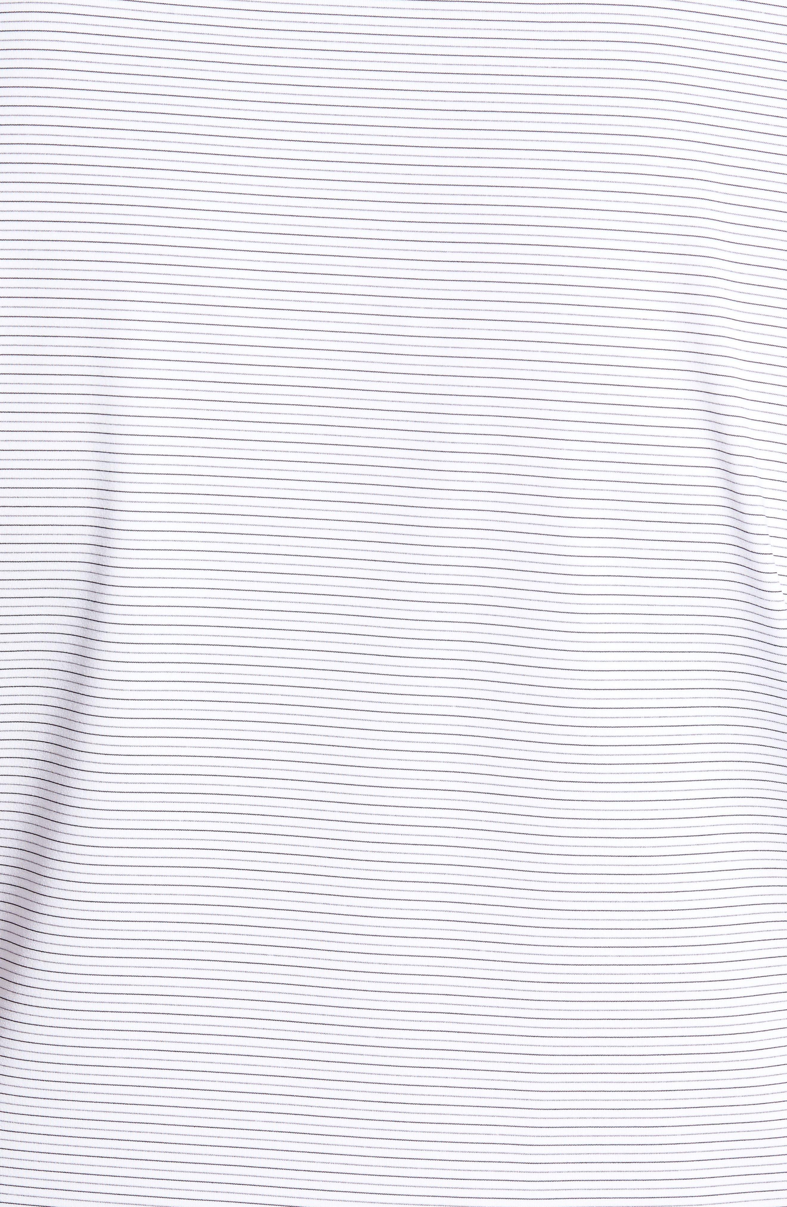 Chesapeake Stripe Stretch Jersey Polo,                             Alternate thumbnail 5, color,                             146