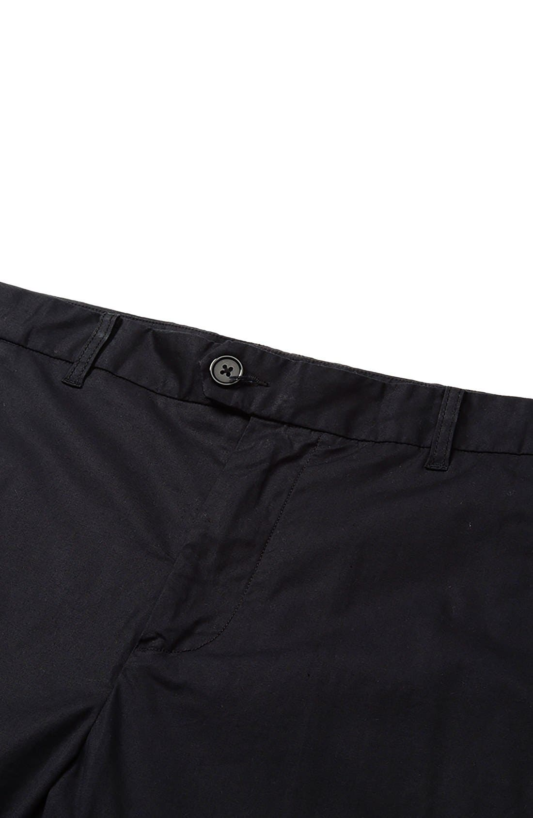'Arroyo' Crop Stretch Chinos,                             Alternate thumbnail 4, color,                             001