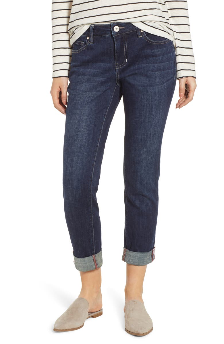 b9aab1dc0165f Jag Jeans Carter Girlfriend Jeans (Night Breeze)