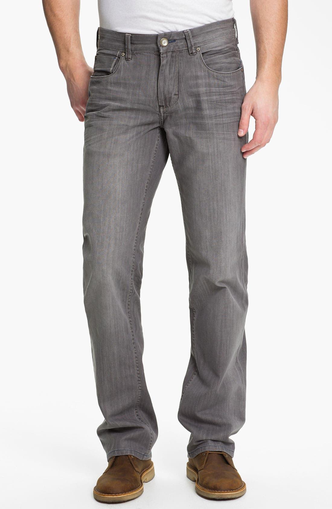 Denim 'Zander' Authentic Straight Leg Jeans,                             Main thumbnail 1, color,                             050