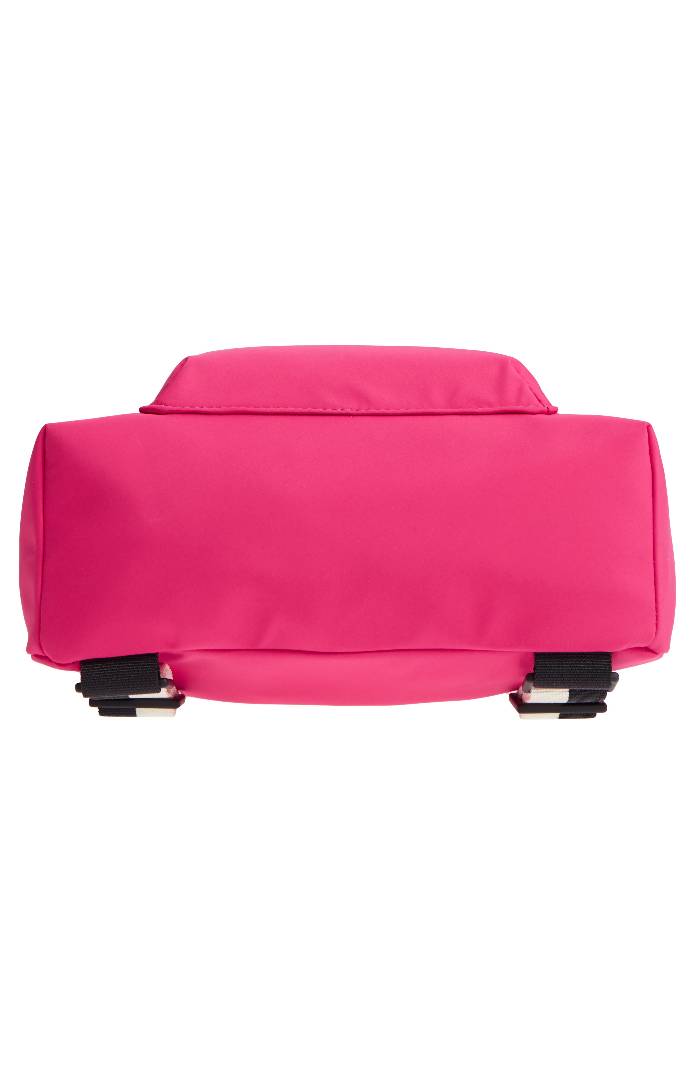 that's the spirit mini nylon convertible backpack,                             Alternate thumbnail 7, color,                             KINETIC PINK