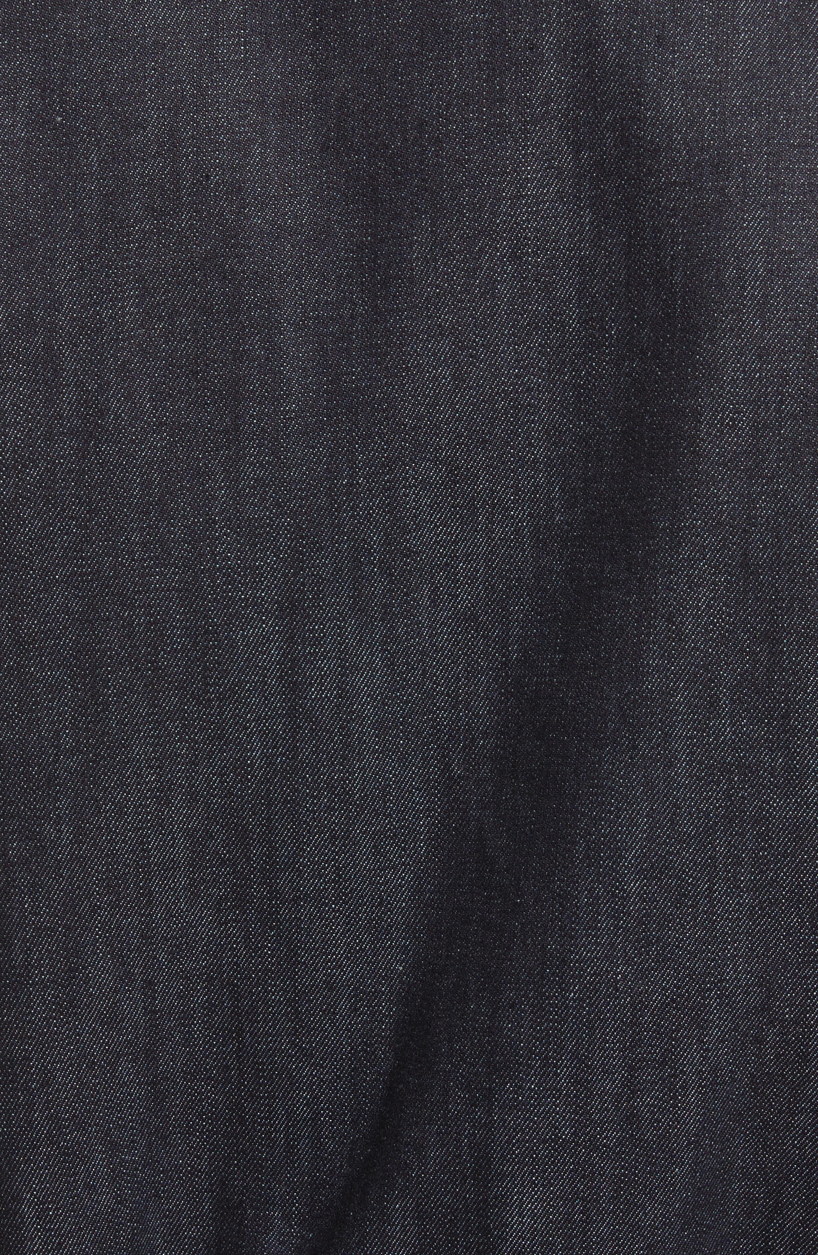 Faux Fur Collar Bomber Jacket,                             Alternate thumbnail 6, color,                             400