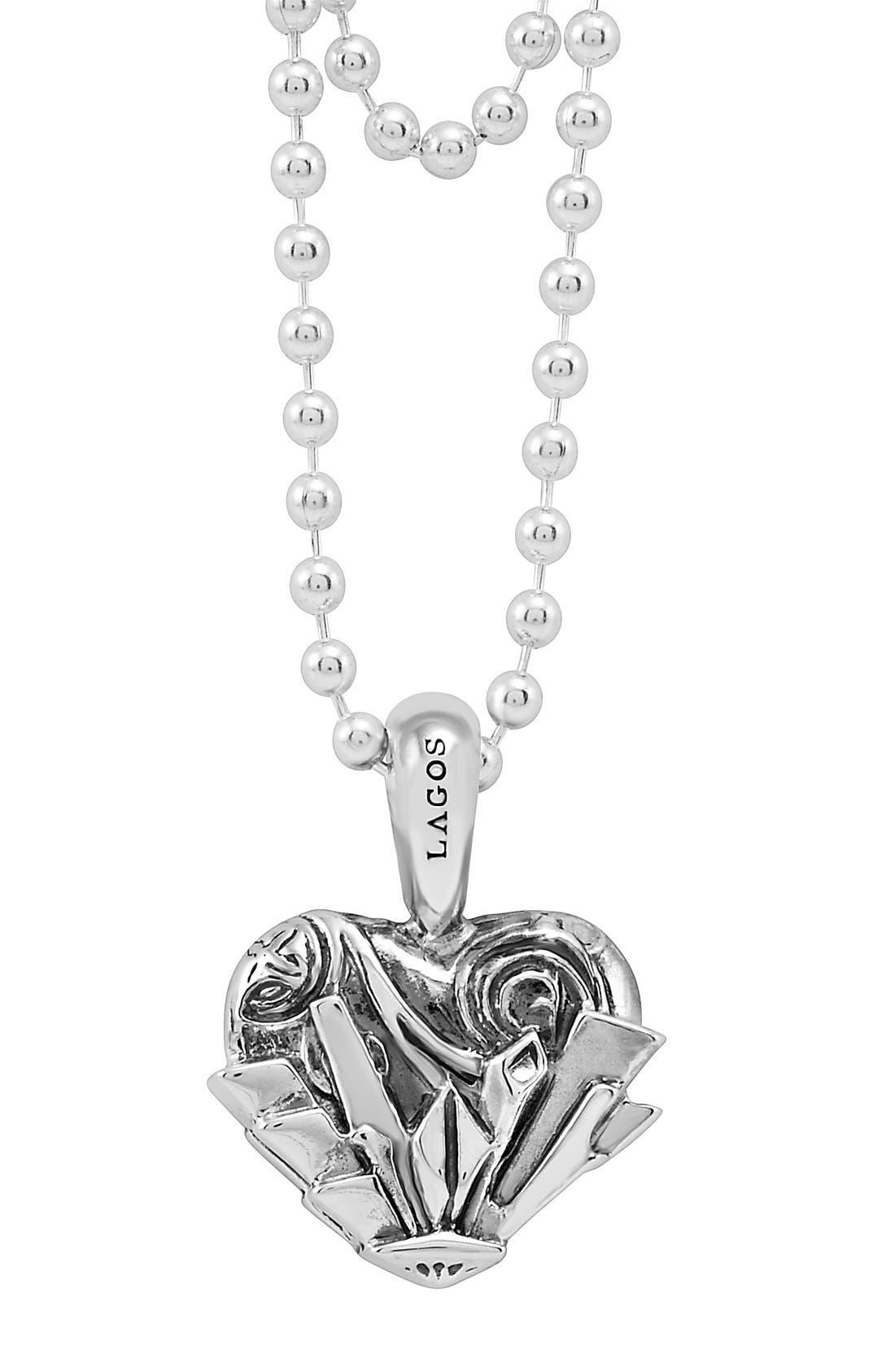 'Hearts of Lagos - Seattle' Reversible Pendant Necklace,                             Alternate thumbnail 28, color,