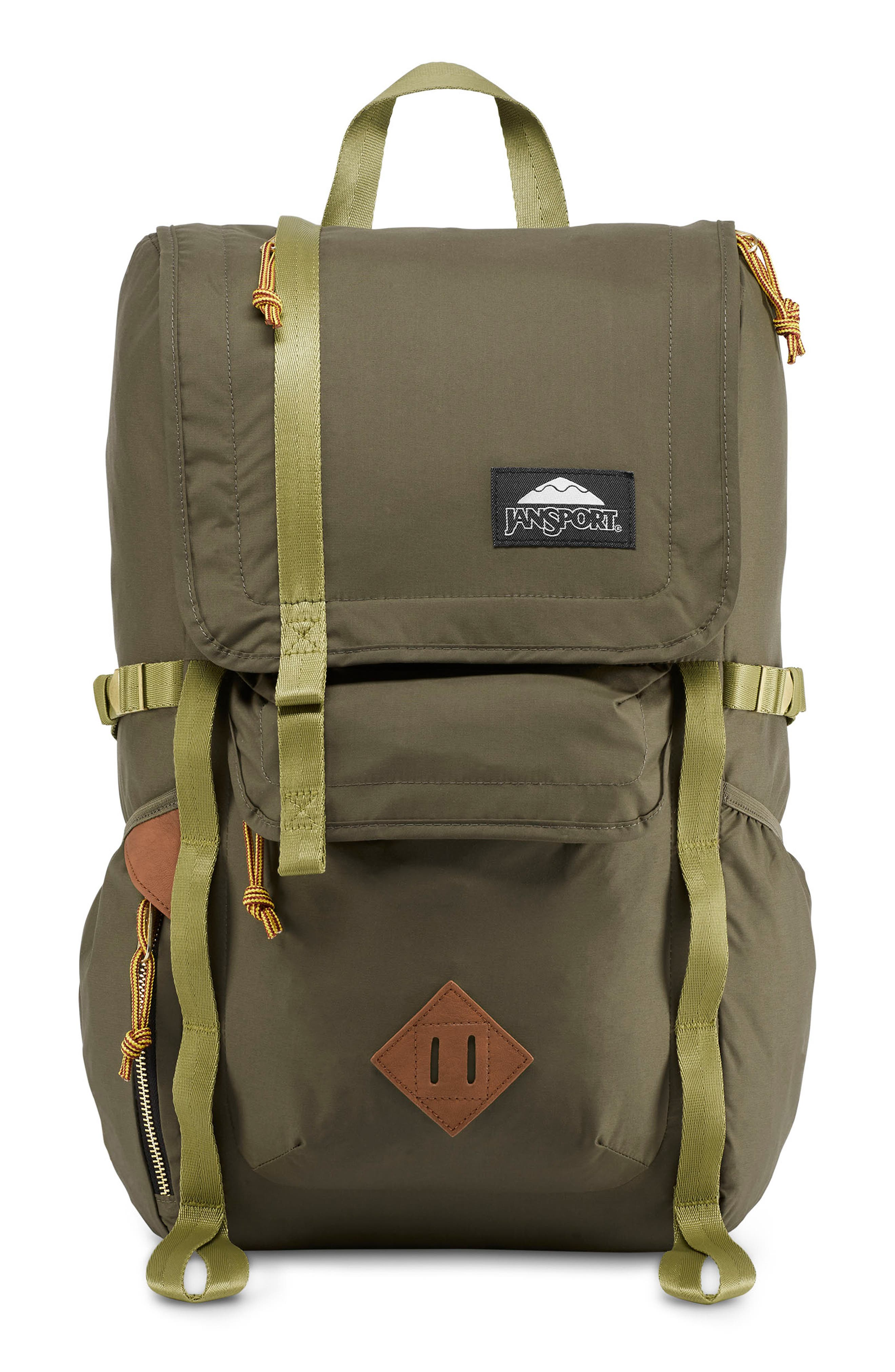 JANSPORT Standard Issue Hatchet Backpack - Green in Alpha Green