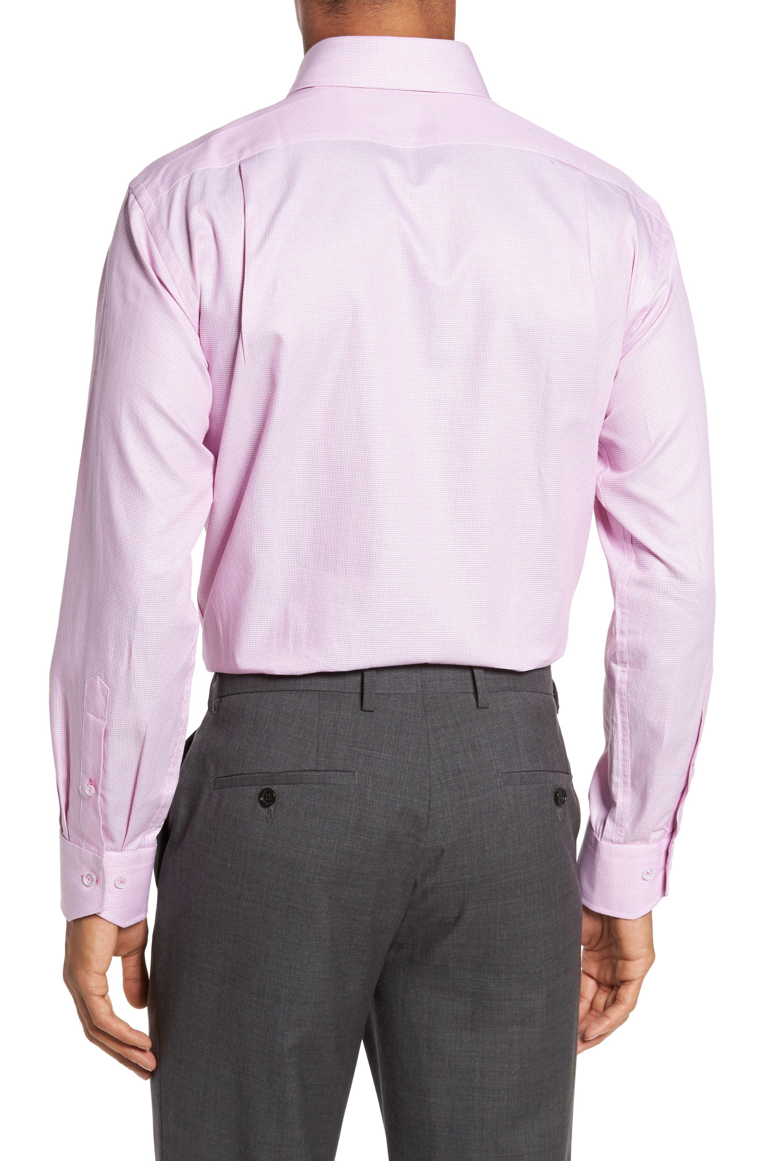 Trim Fit Solid Dress Shirt,                             Alternate thumbnail 2, color,                             680