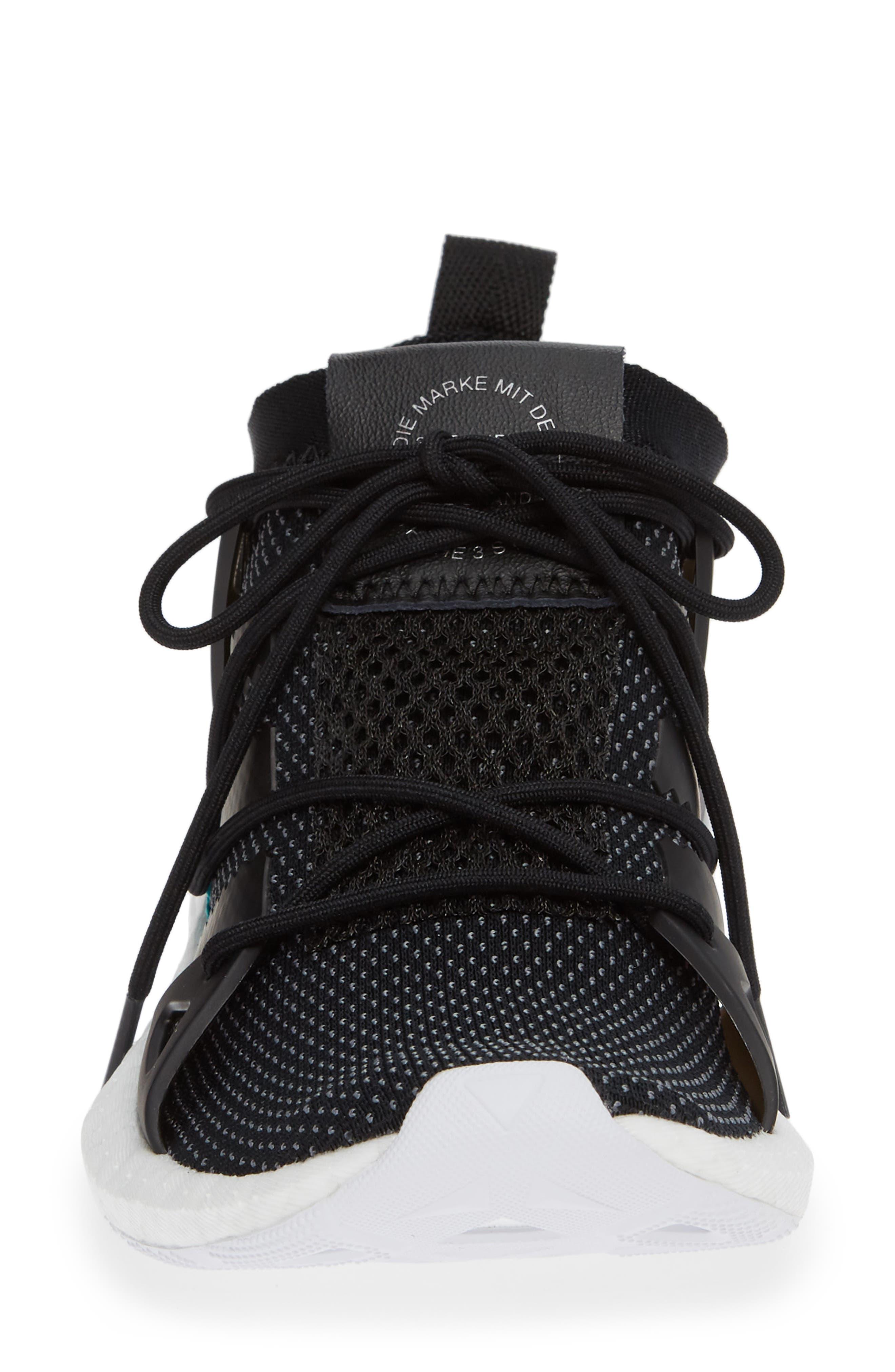 Arkyn Sneaker,                             Alternate thumbnail 4, color,                             BLACK/ BLACK/ WHITE
