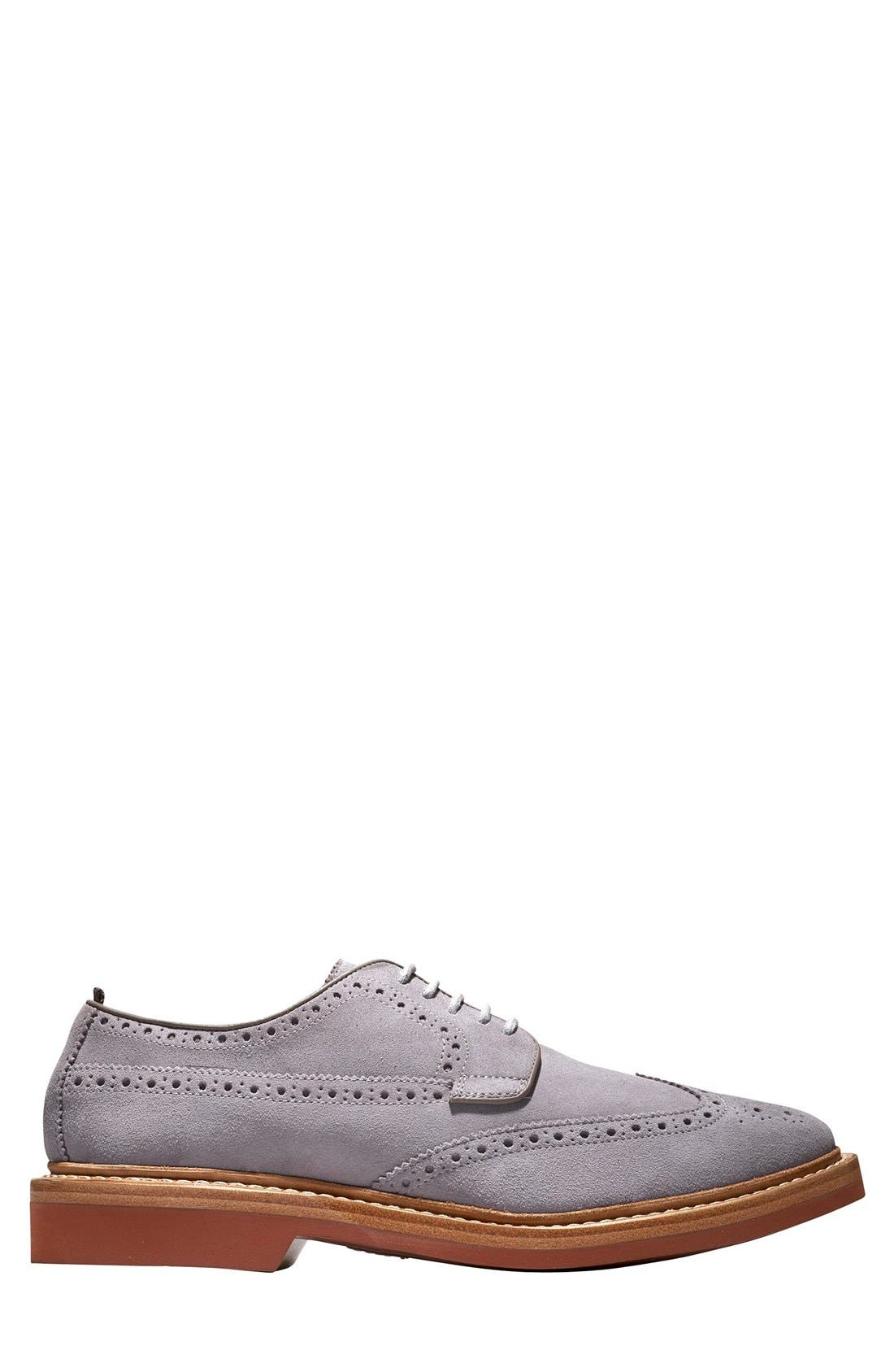 COLE HAAN & TODD SNYDER,                             'Hammond' Wingtip,                             Alternate thumbnail 5, color,                             025