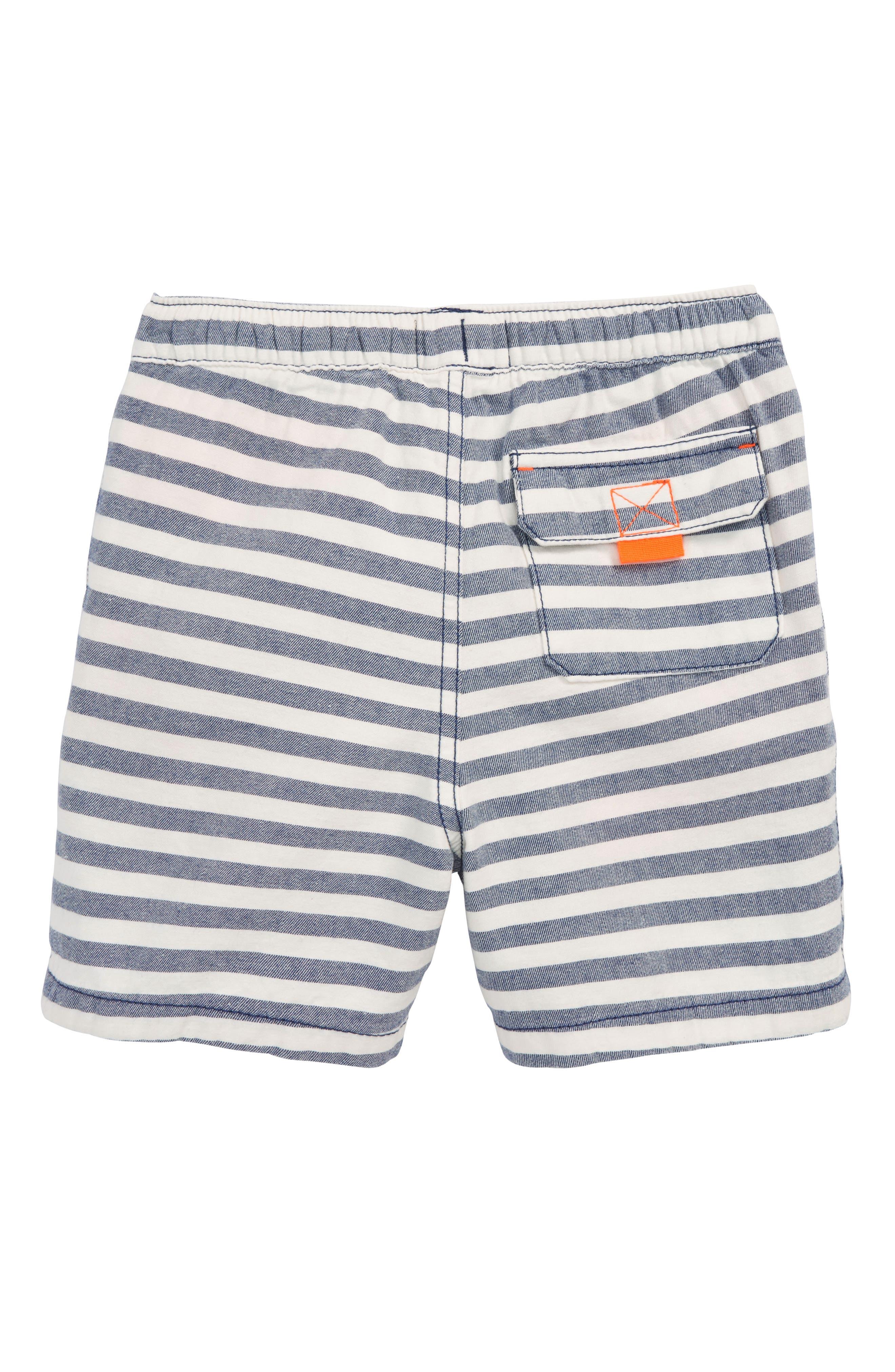 Stripe Drawstring Shorts,                             Alternate thumbnail 2, color,                             414