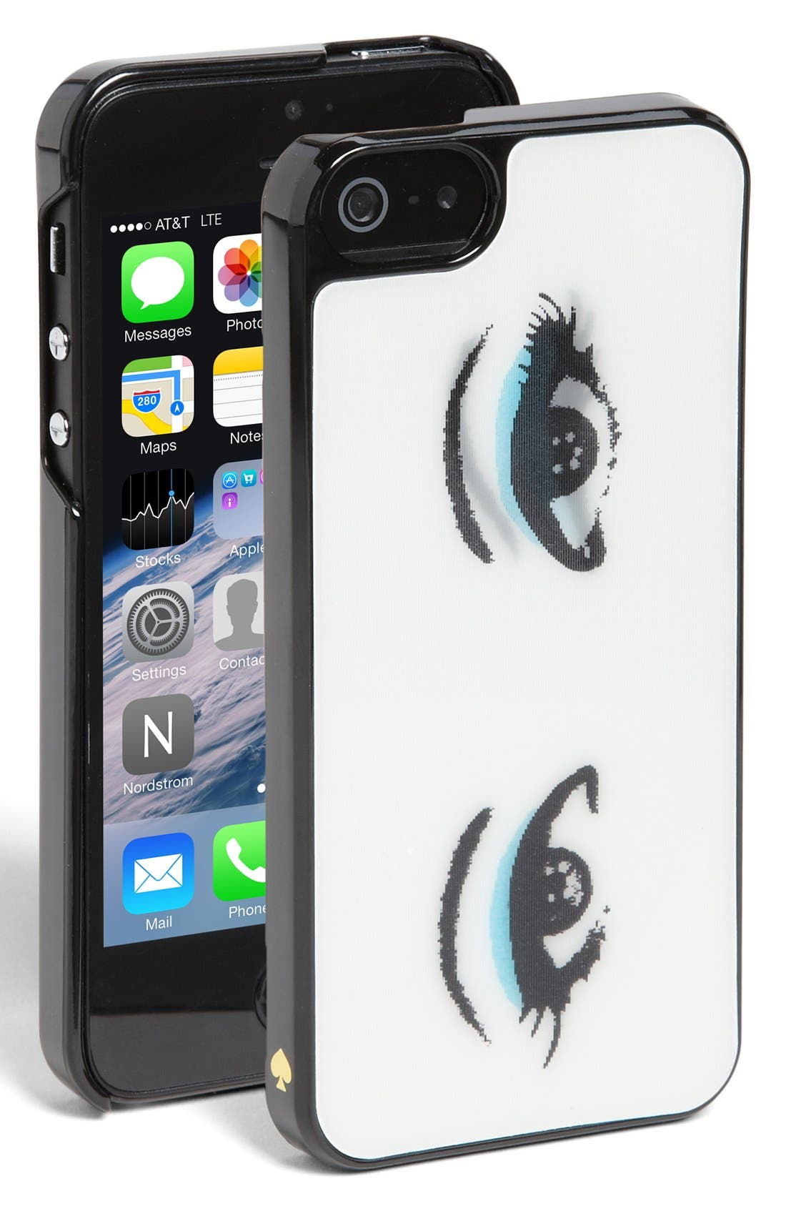 KATE SPADE NEW YORK 'lenticular eyes' iPhone 5 & 5s case, Main, color, 101