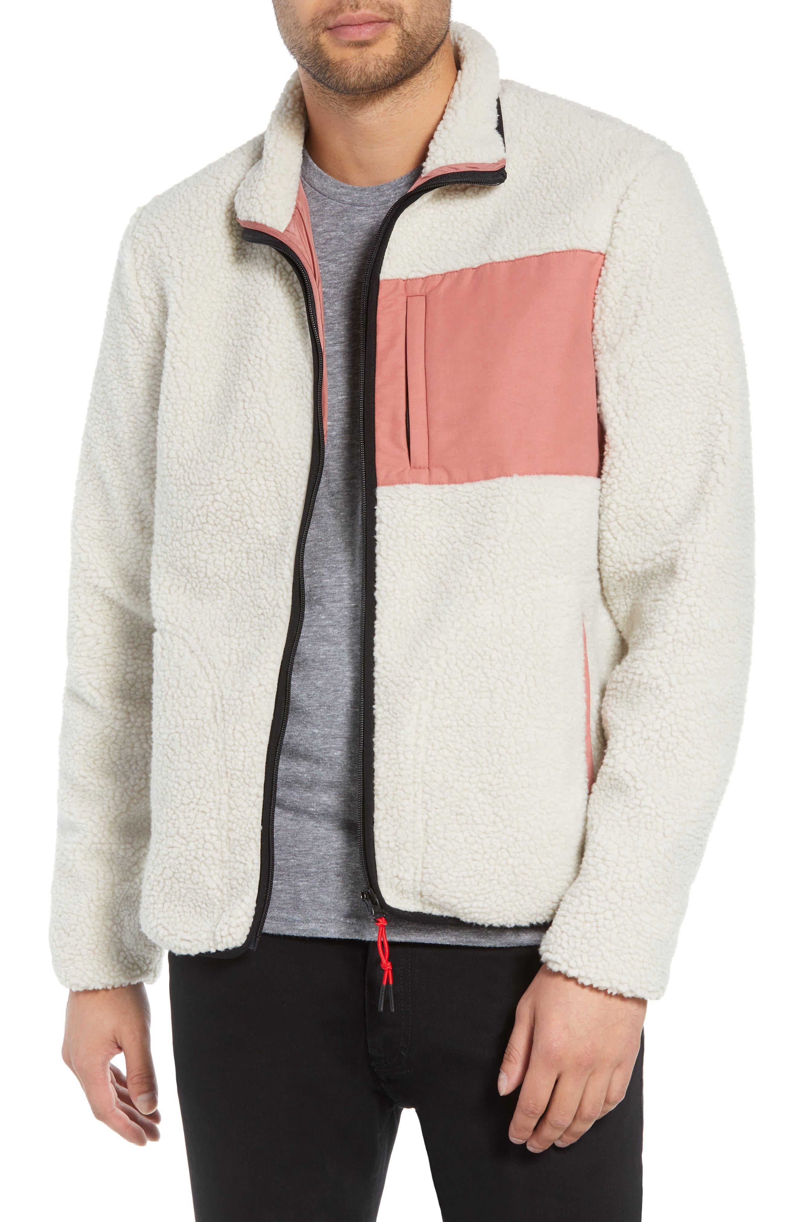 WESC Moritz Fleece Jacket, Main, color, 270