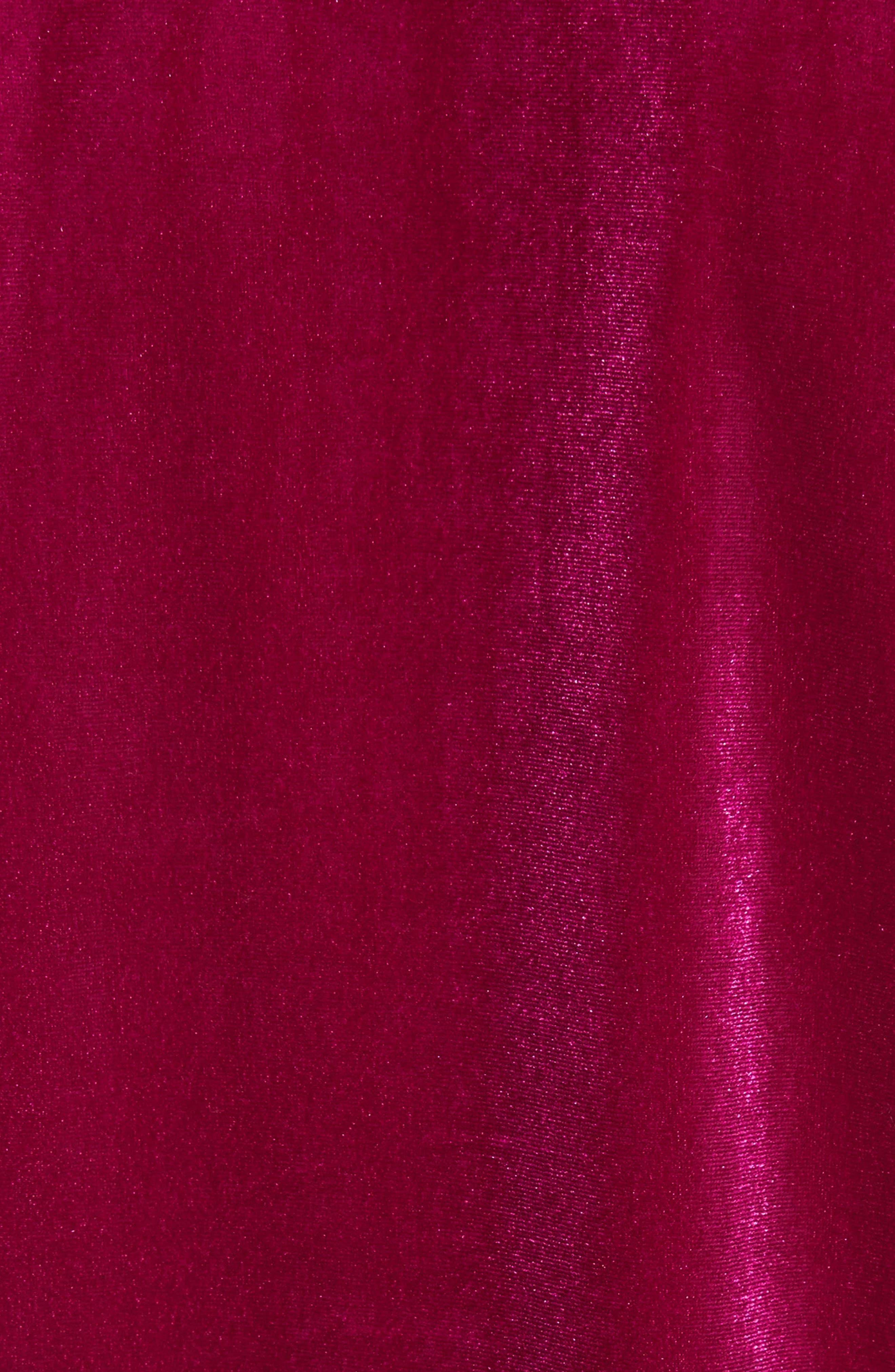 Sequin Velour Top,                             Alternate thumbnail 5, color,                             540