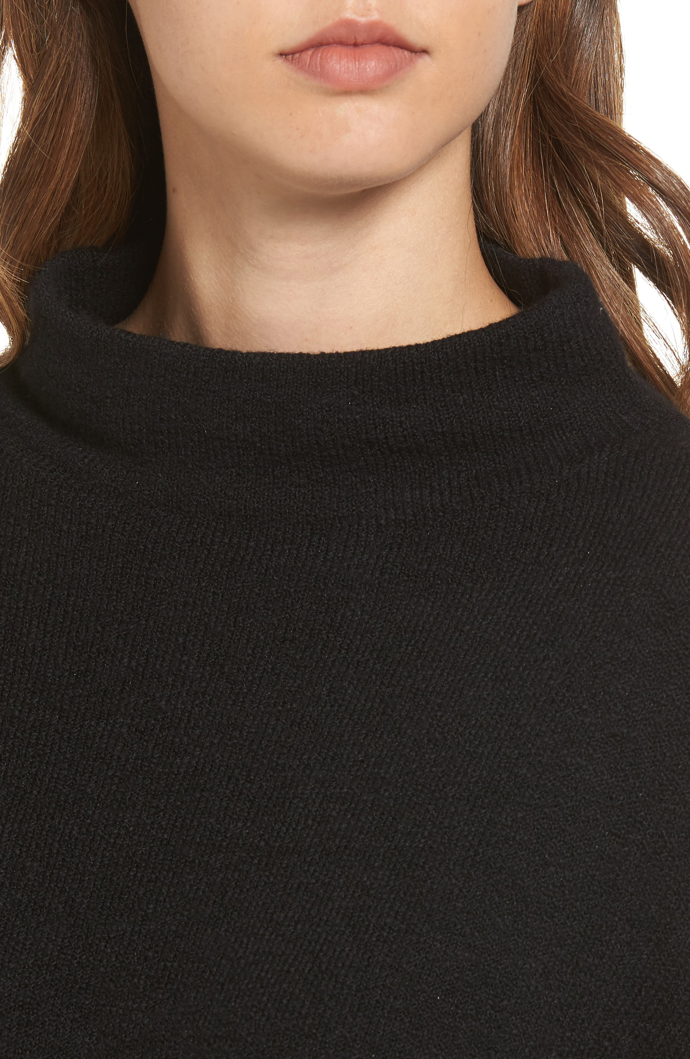 Dolman Sleeve Sweater,                             Alternate thumbnail 4, color,                             001