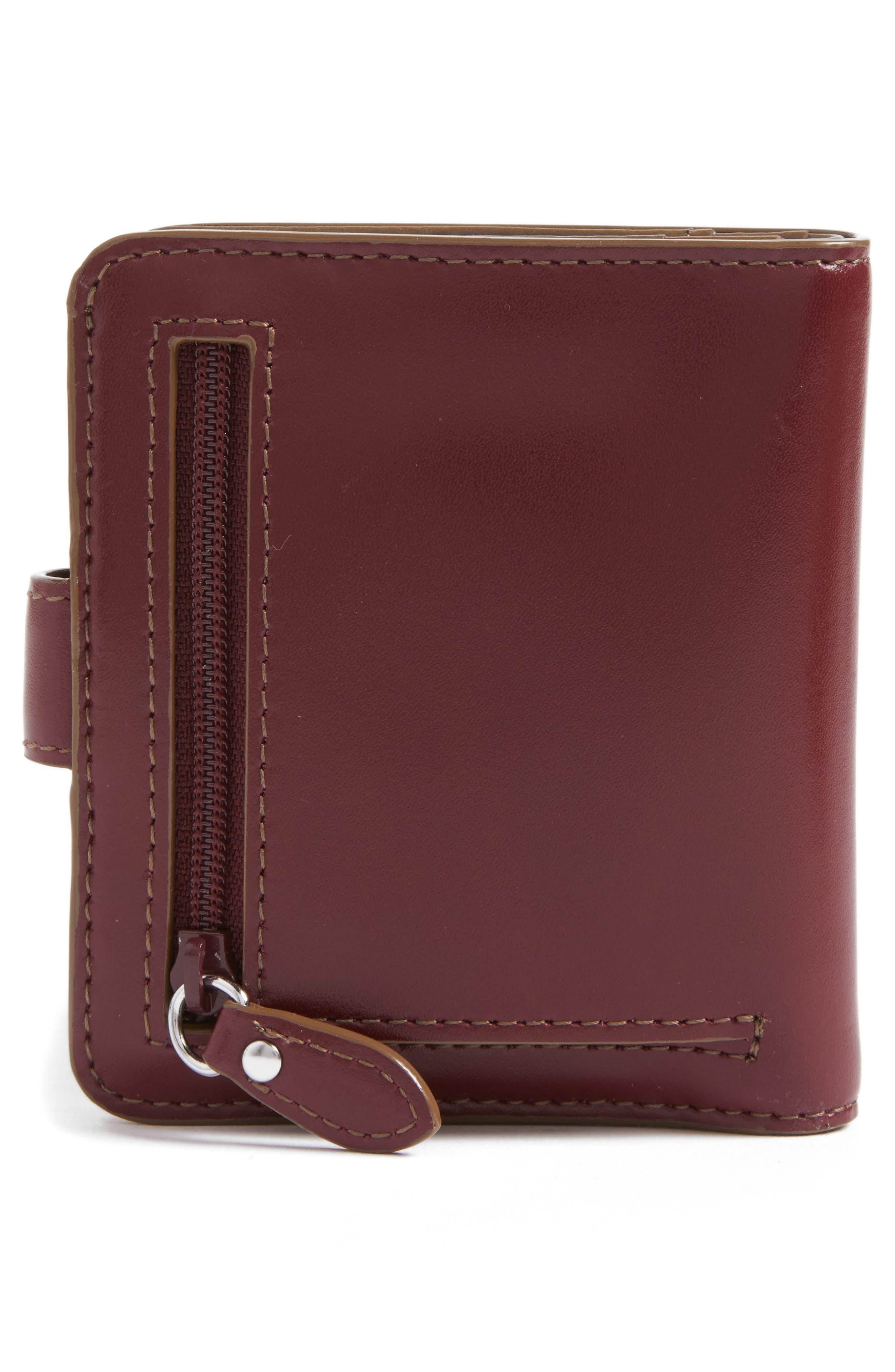 Lodis Petite Audrey RFID Leather Wallet,                             Alternate thumbnail 12, color,