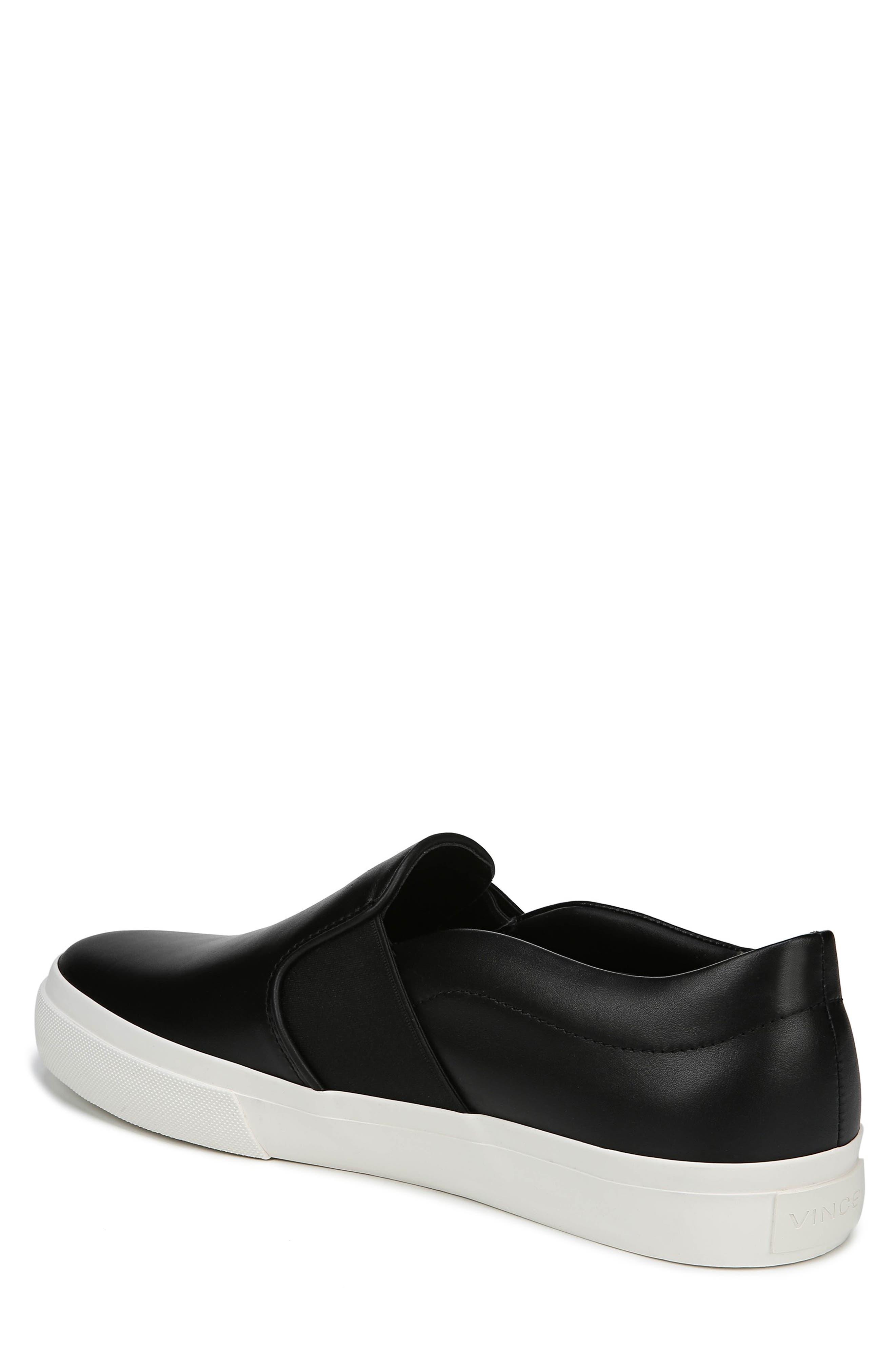 Fenton Slip-On  Sneaker,                             Alternate thumbnail 2, color,                             BLACK/ BLACK