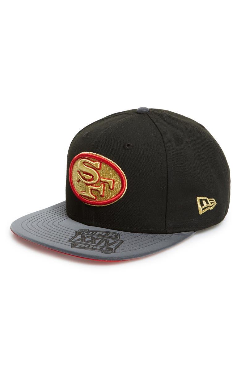 New Era Cap  San Francisco 49ers - SB XXIV  Snapback Cap  9de374a8a35