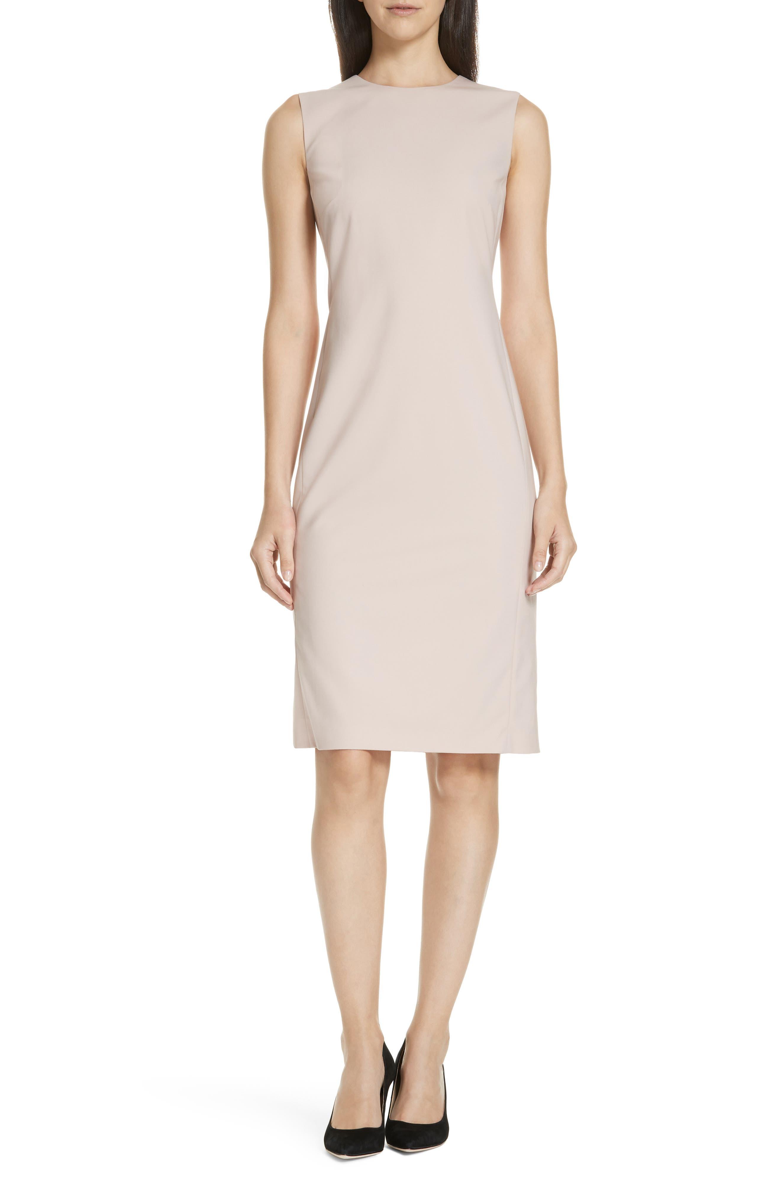 Eano Good Wool Sheath Dress,                             Main thumbnail 1, color,                             650