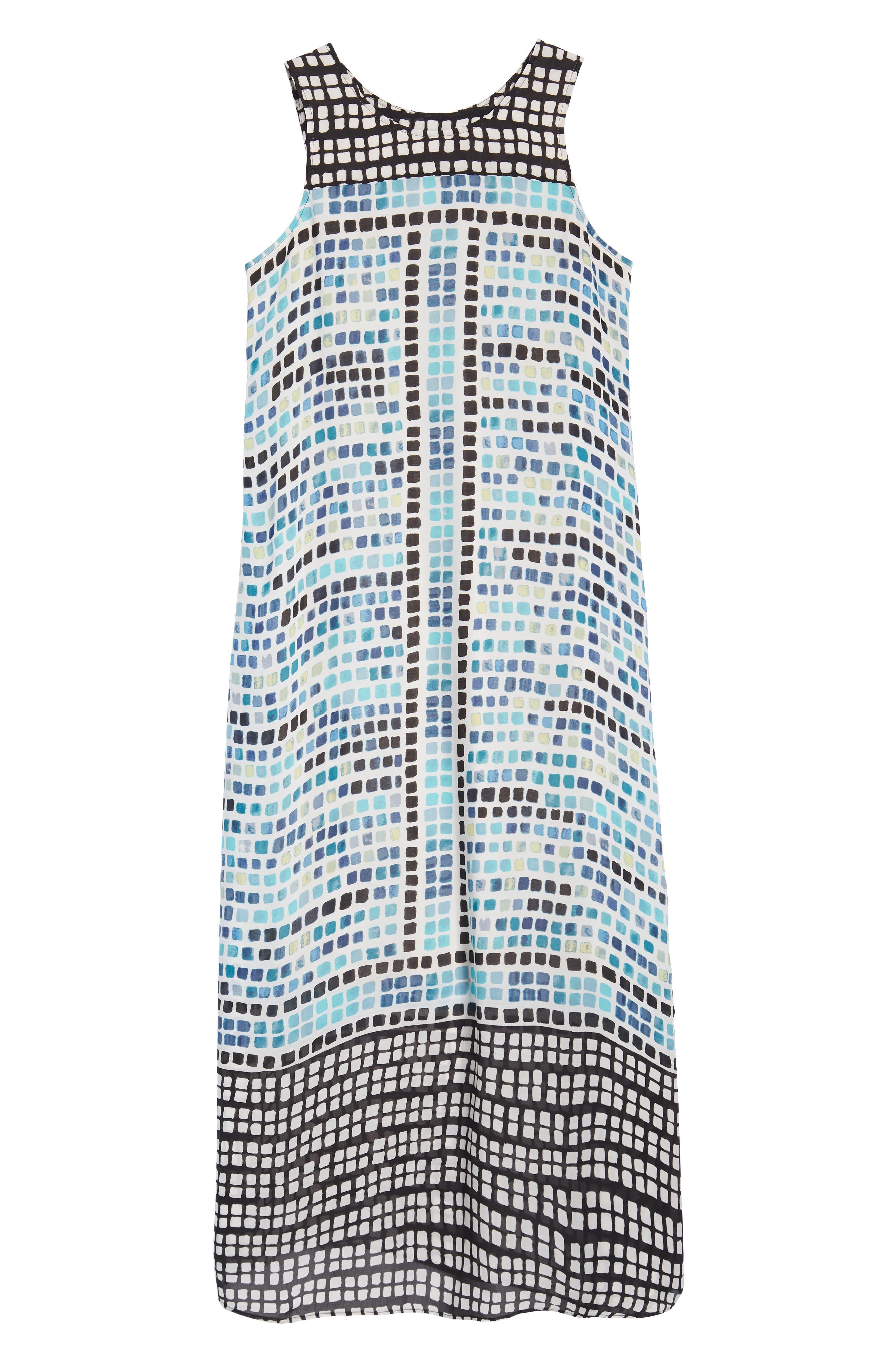 Color Wave Maxi Dress,                             Alternate thumbnail 6, color,