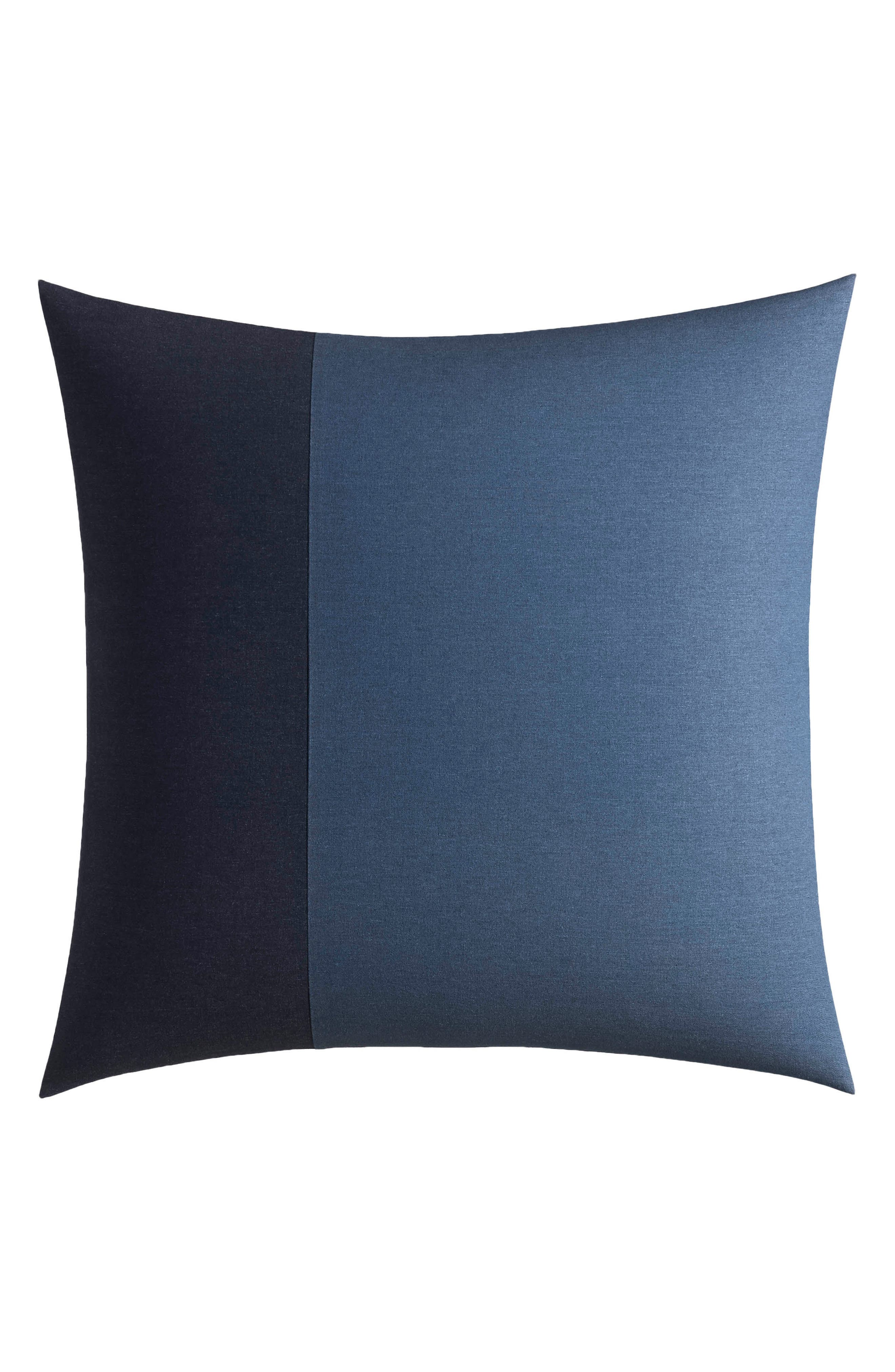 Lockridge Euro Sham,                         Main,                         color, DARK BLUE