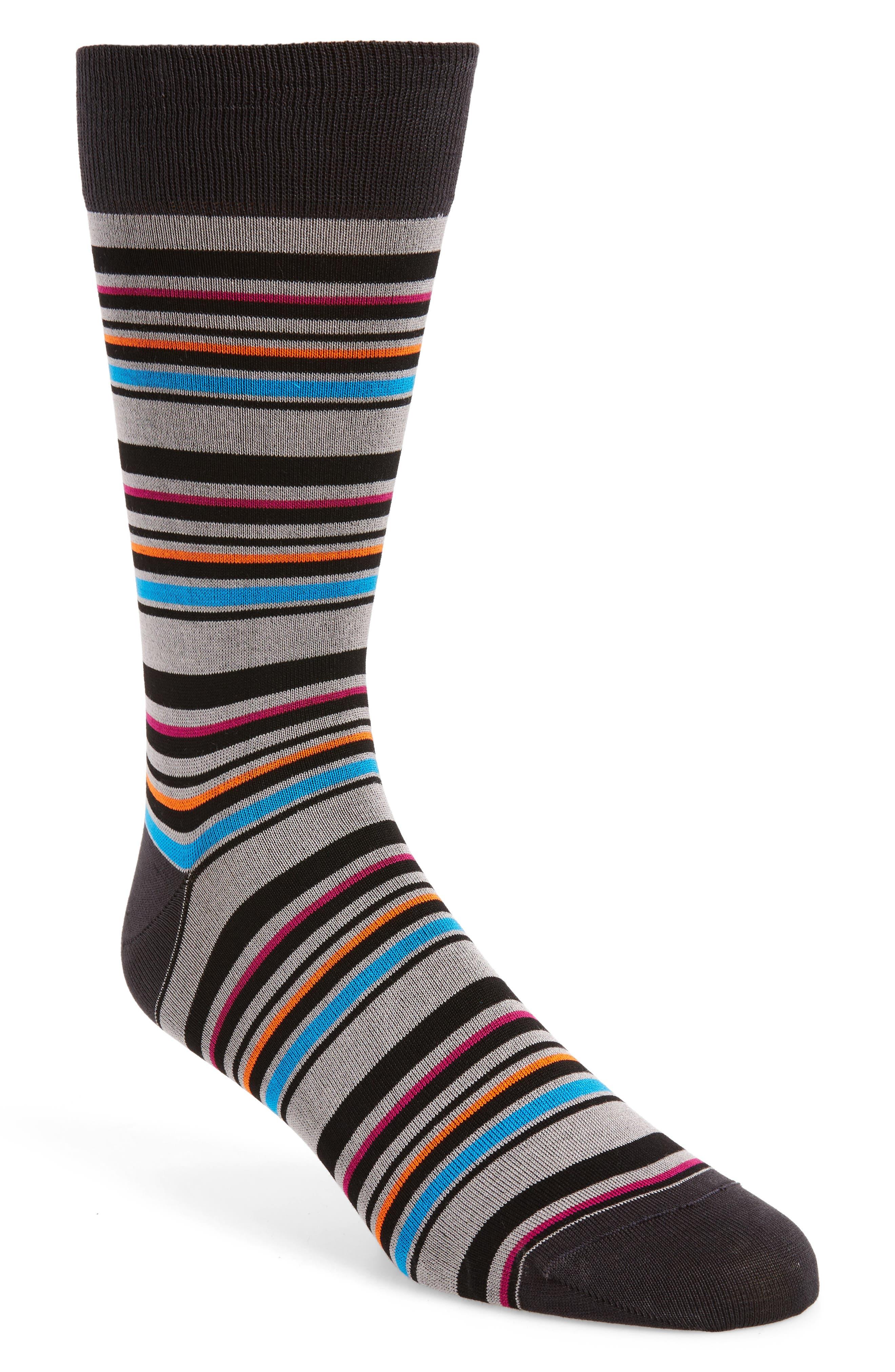 Stripe Socks,                         Main,                         color,