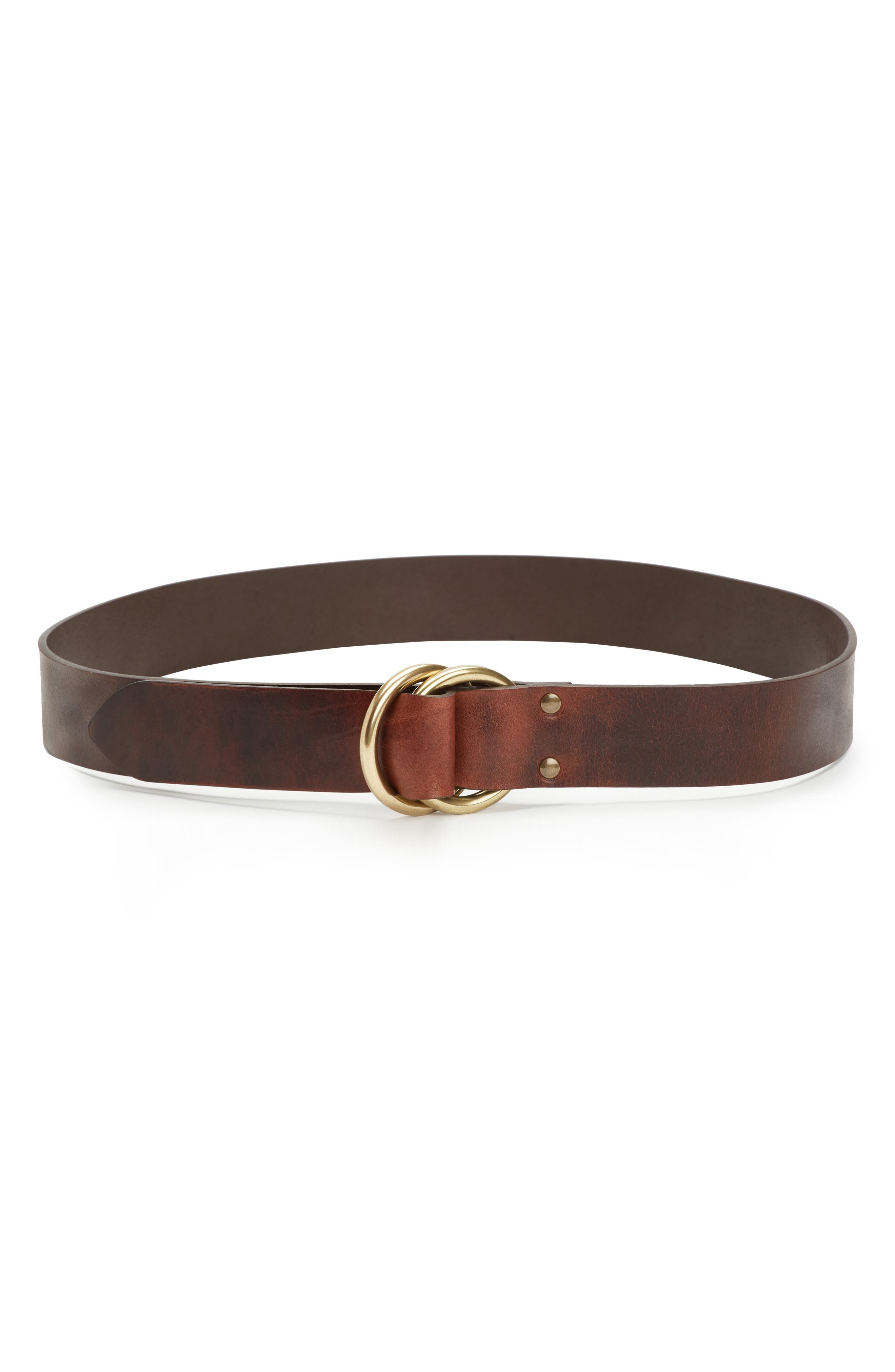 Harness Leather Belt,                             Main thumbnail 1, color,                             235