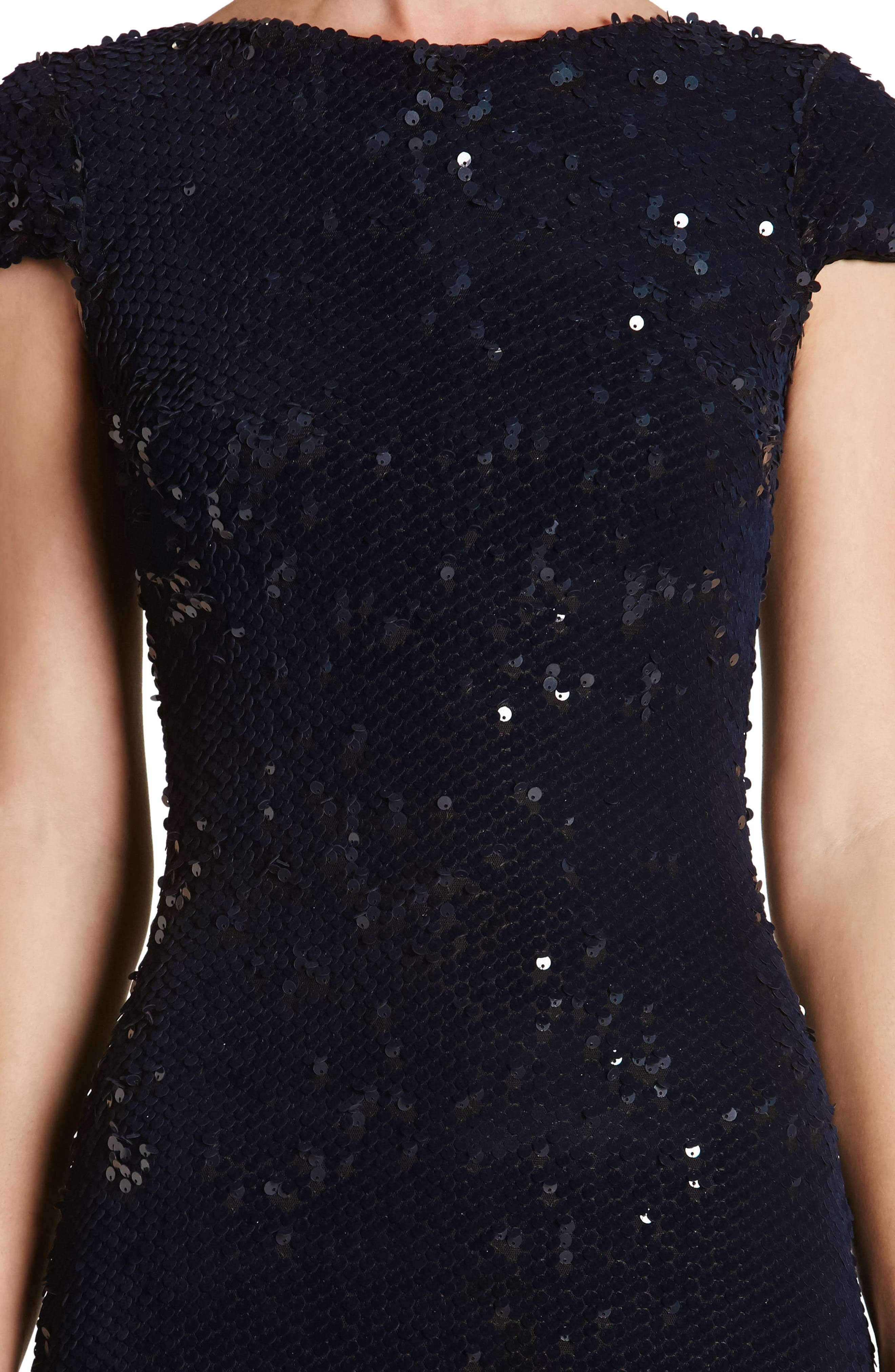 Marcella Sequin Body-Con Dress,                             Alternate thumbnail 11, color,