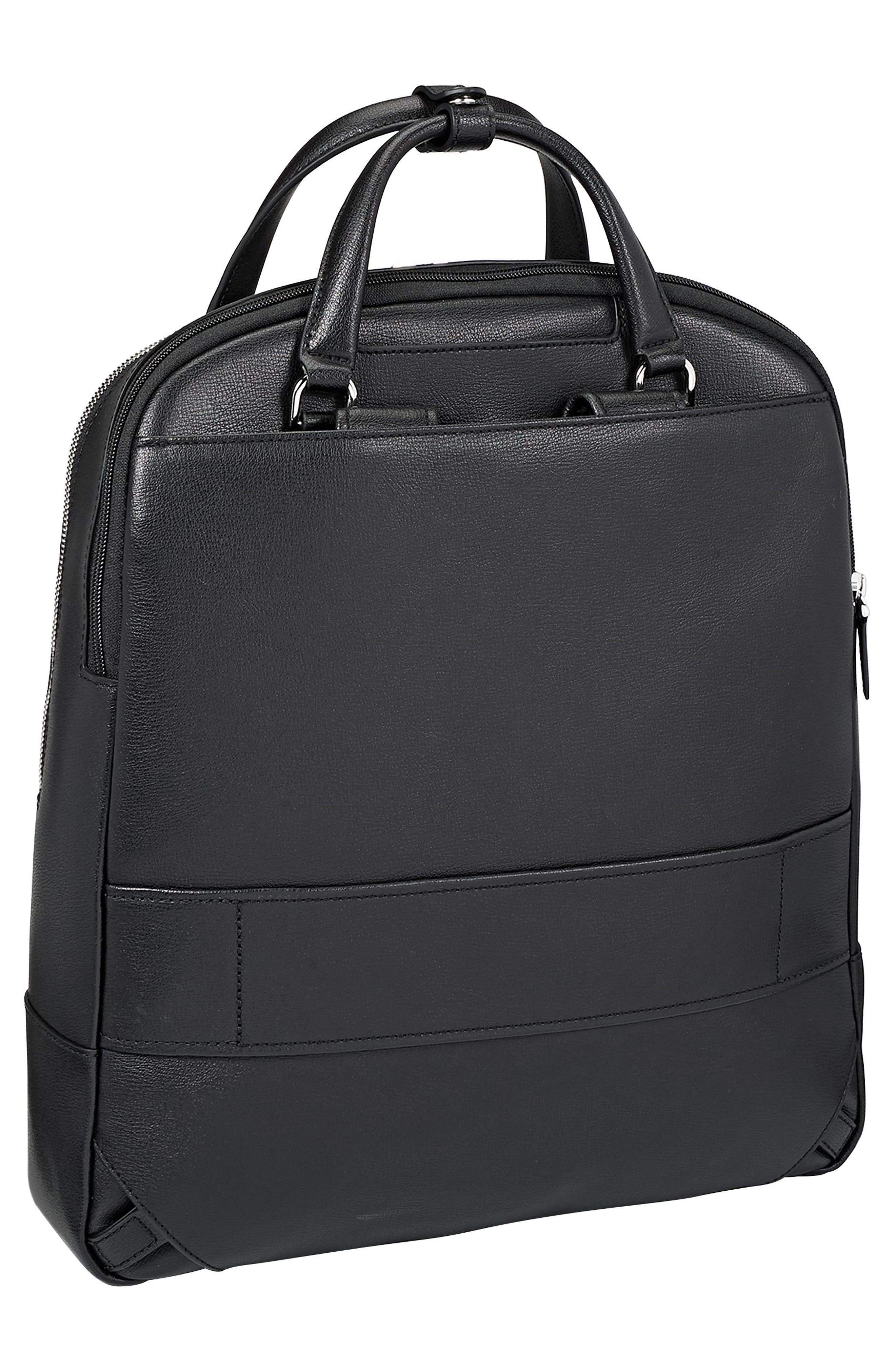 Stanton Orion Leather Backpack,                             Alternate thumbnail 2, color,                             001