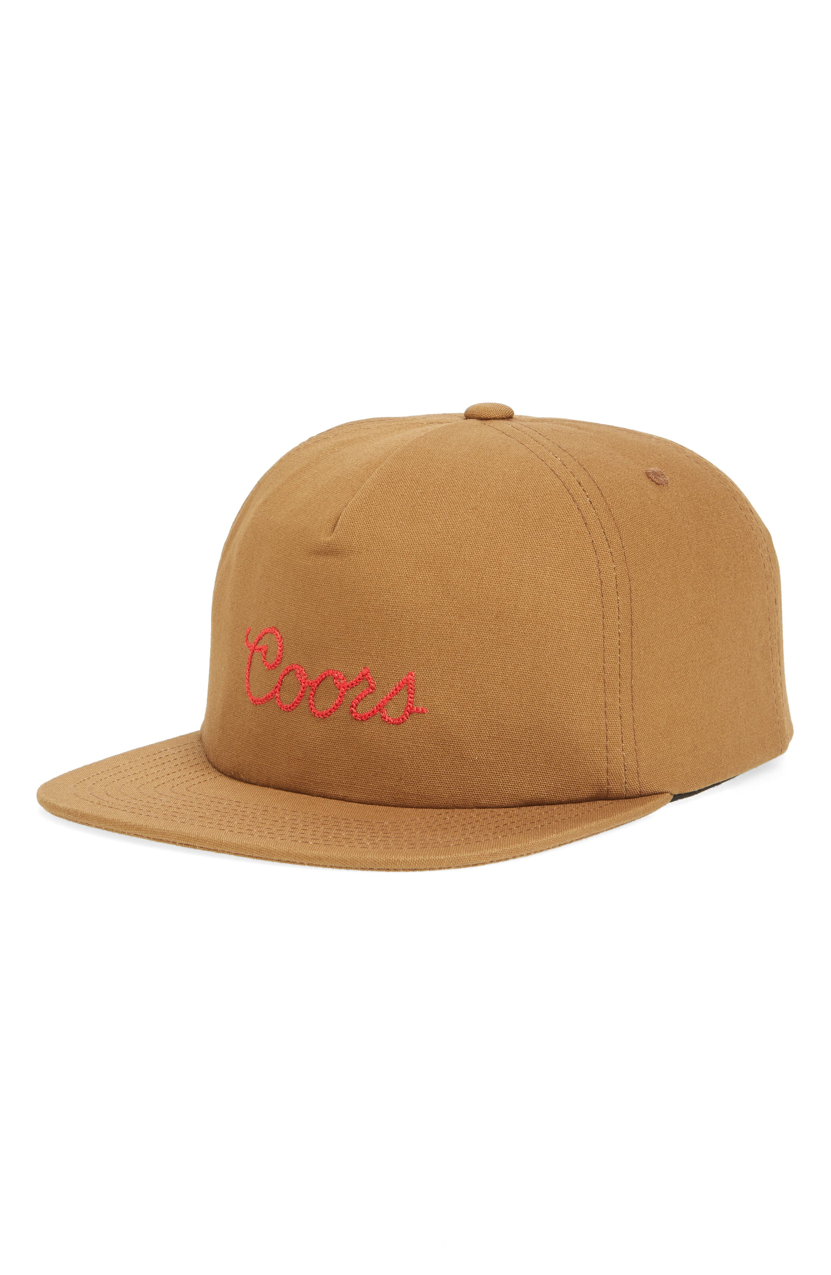 BRIXTON Coors Roping Logo Cap, Main, color, 200