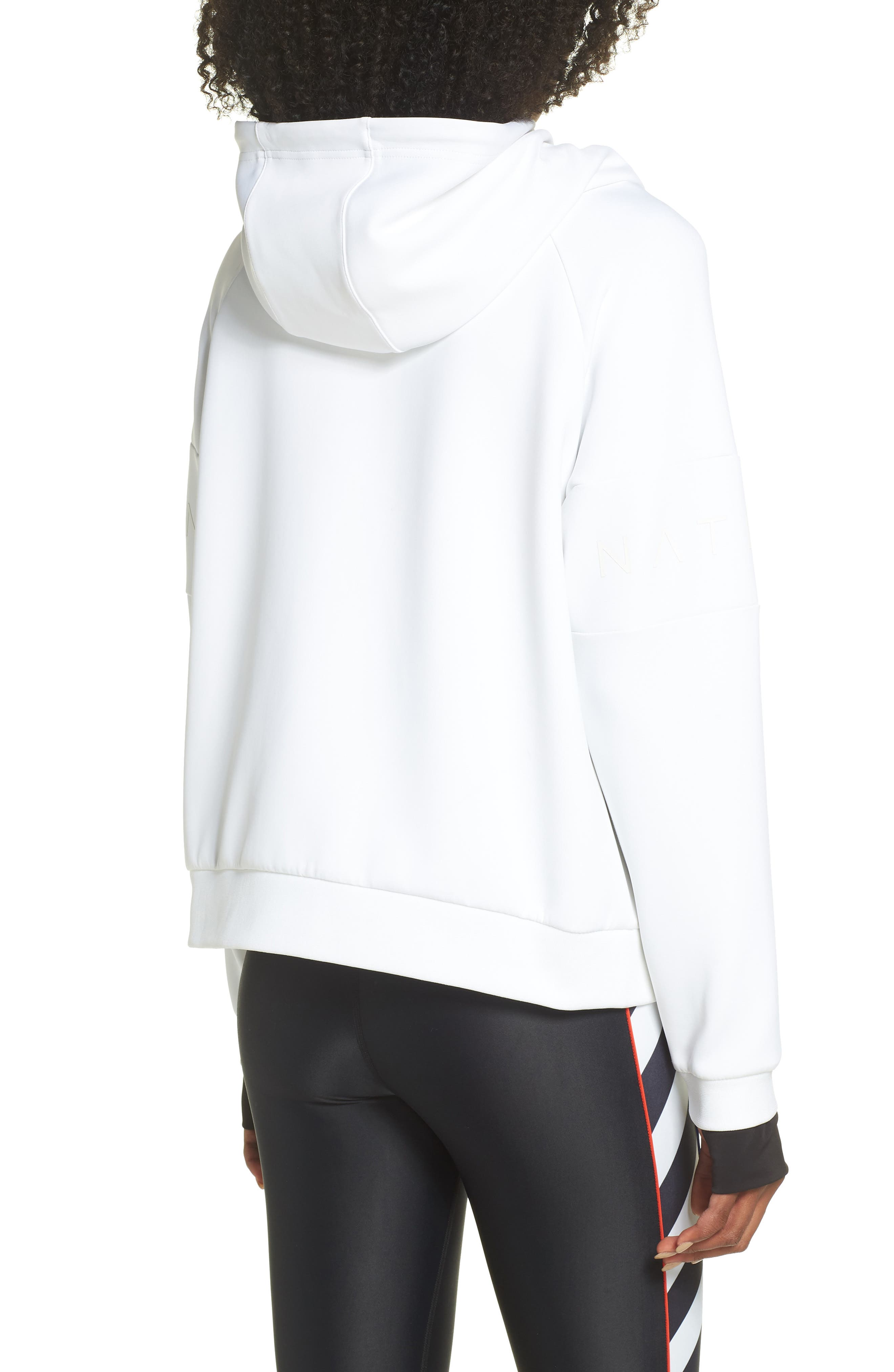 The Defender Ace Hoodie,                             Alternate thumbnail 2, color,                             WHITE