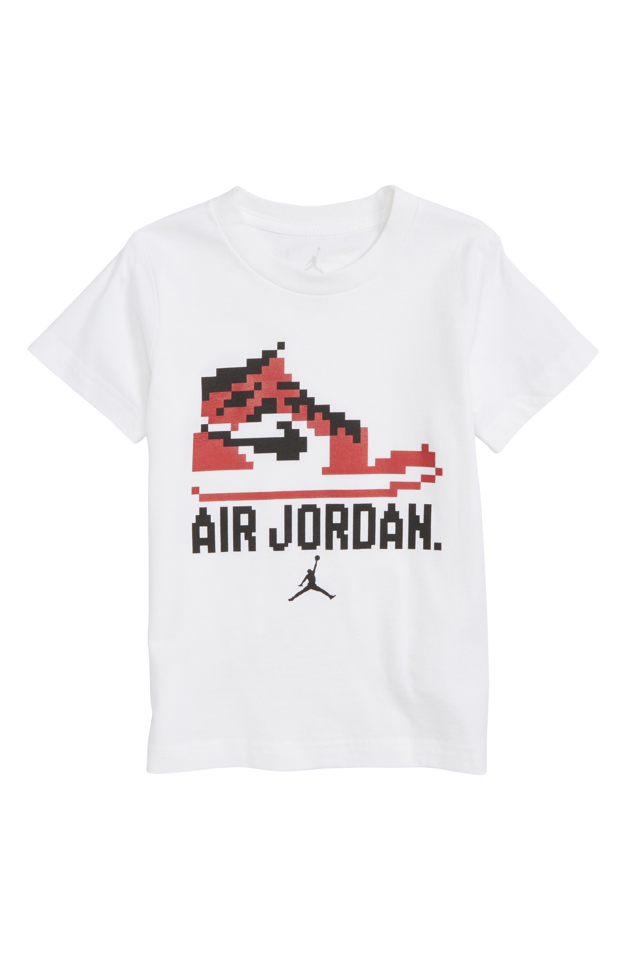 Jordan Pixel Pack Game Chan Graphic Shirt,                             Main thumbnail 1, color,                             100