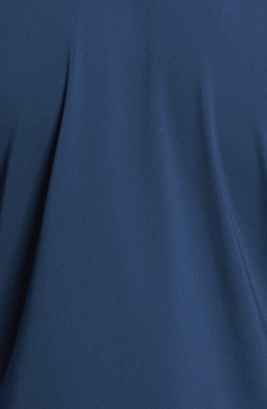Long Sleeve Stretch Rashguard,                             Alternate thumbnail 9, color,                             DEEP BLUE