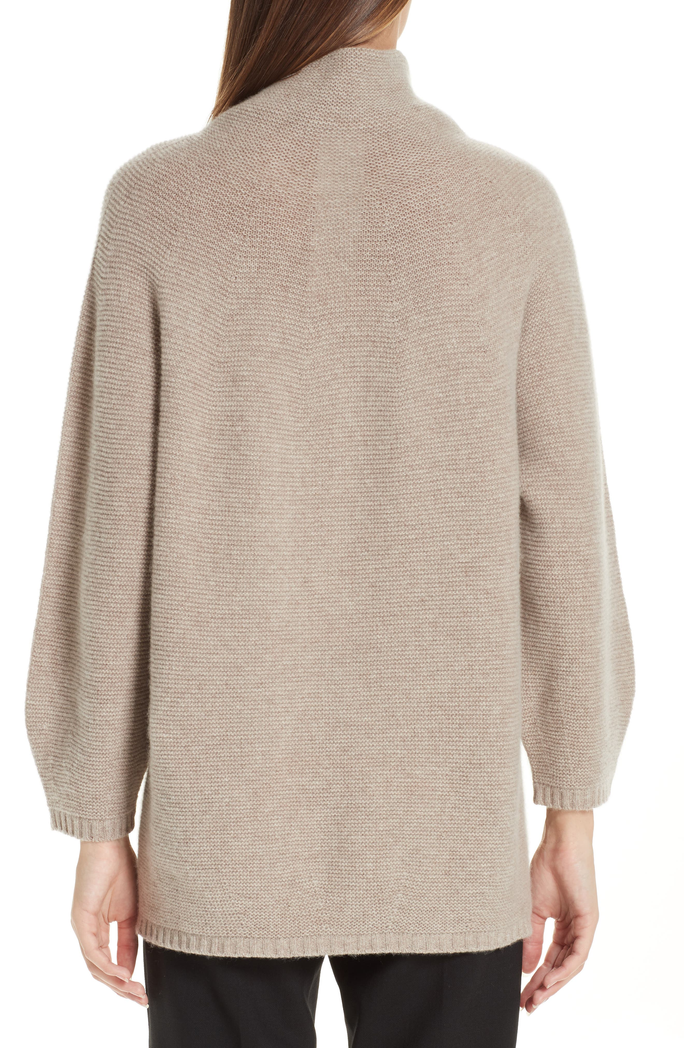 MAX MARA,                             Etrusco Wool & Cashmere Turtleneck Sweater,                             Alternate thumbnail 2, color,                             050
