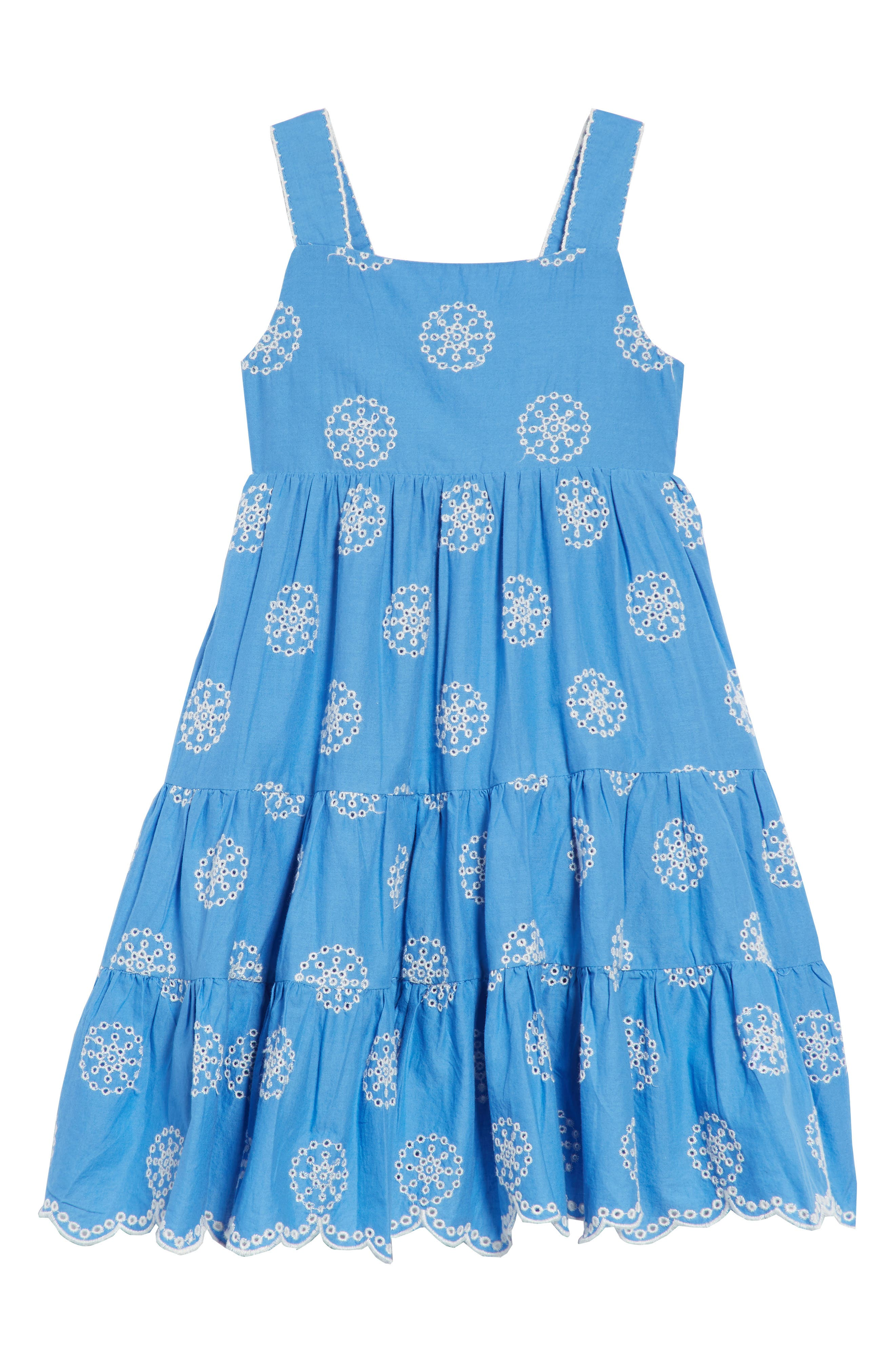 Twirly Tiered Dress,                             Main thumbnail 1, color,                             424