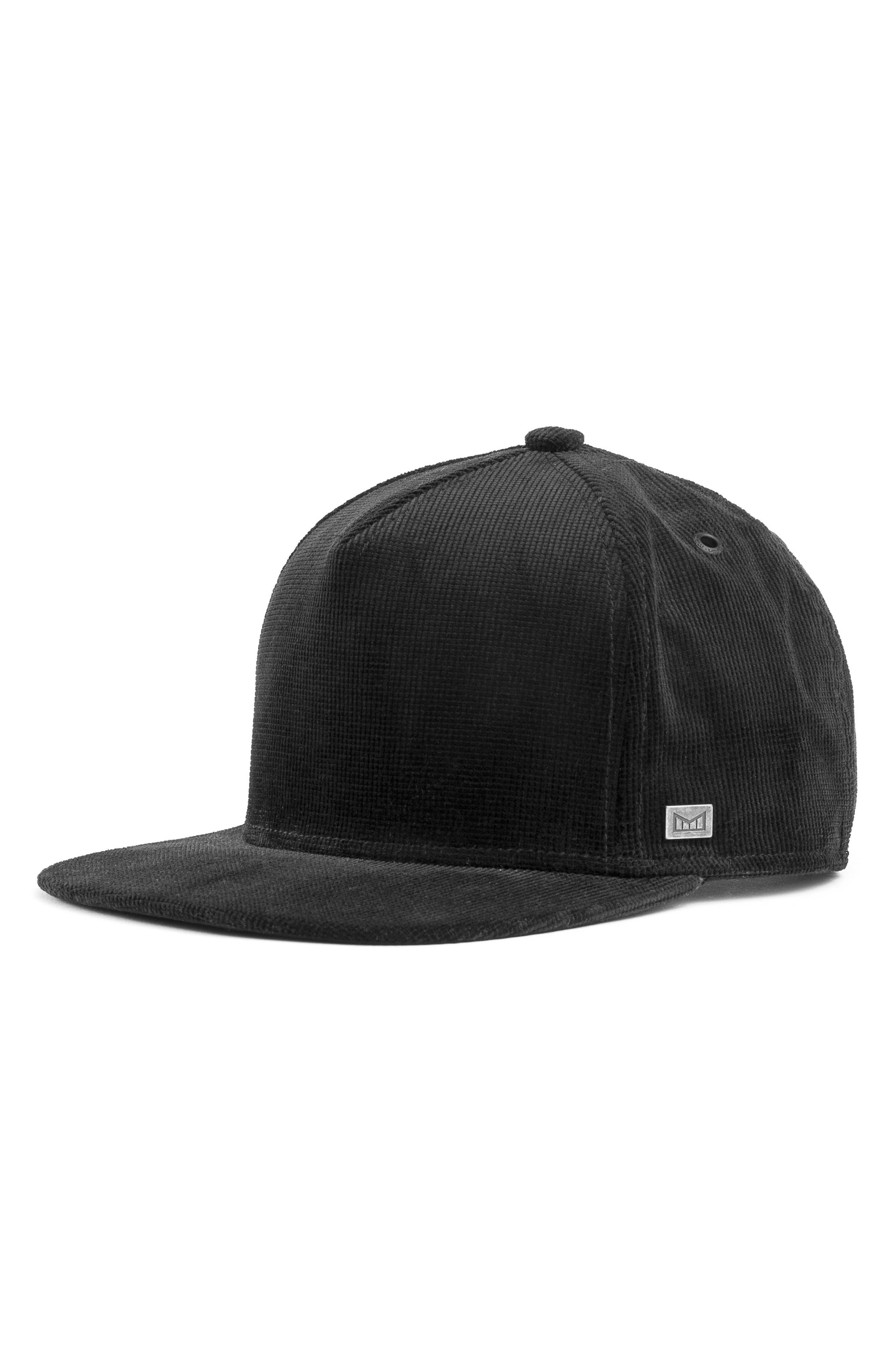 The Stealth Snapback Baseball Cap,                         Main,                         color, BLACK