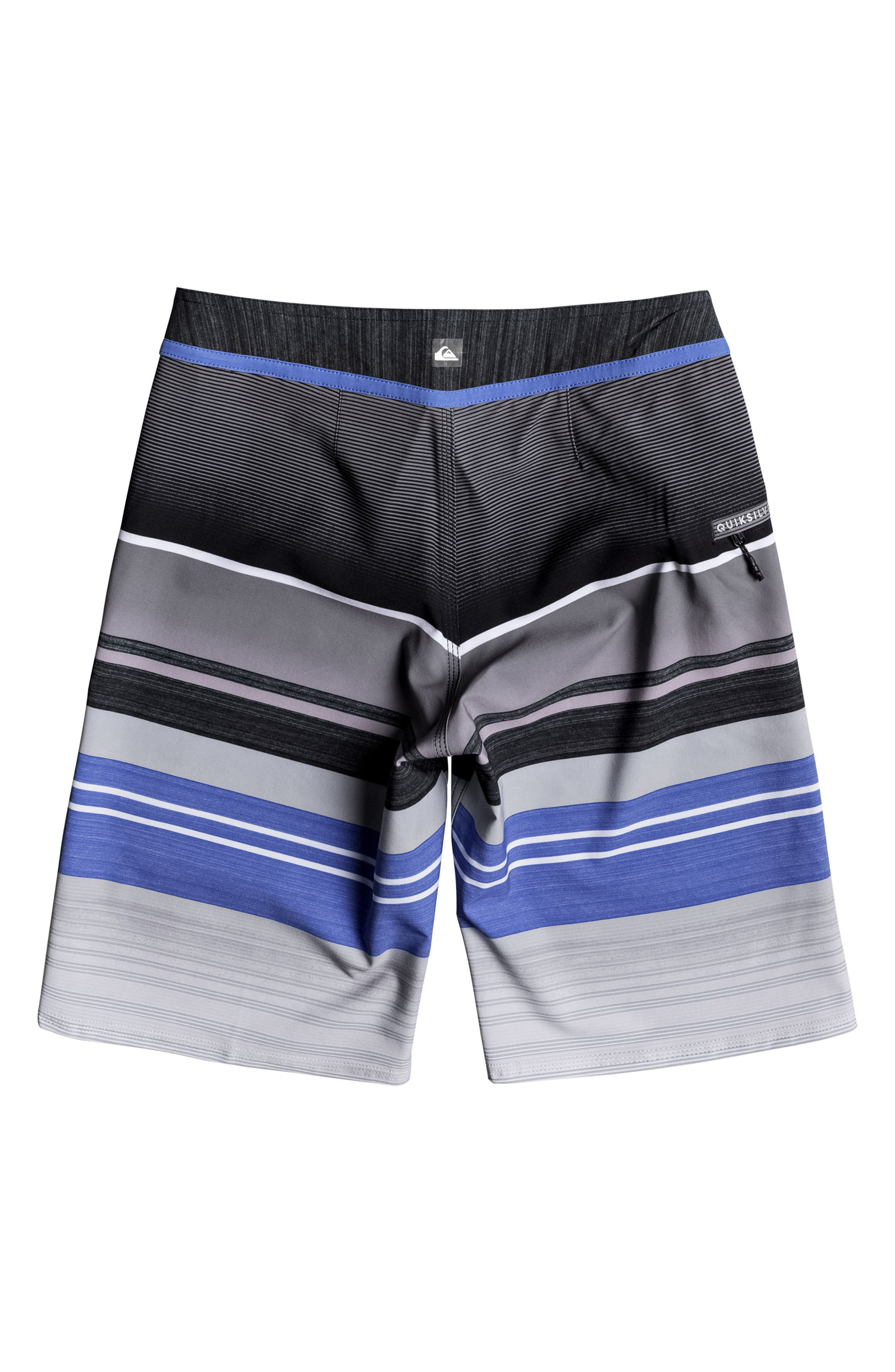 Everyday Stripe Vee Board Shorts,                             Alternate thumbnail 11, color,
