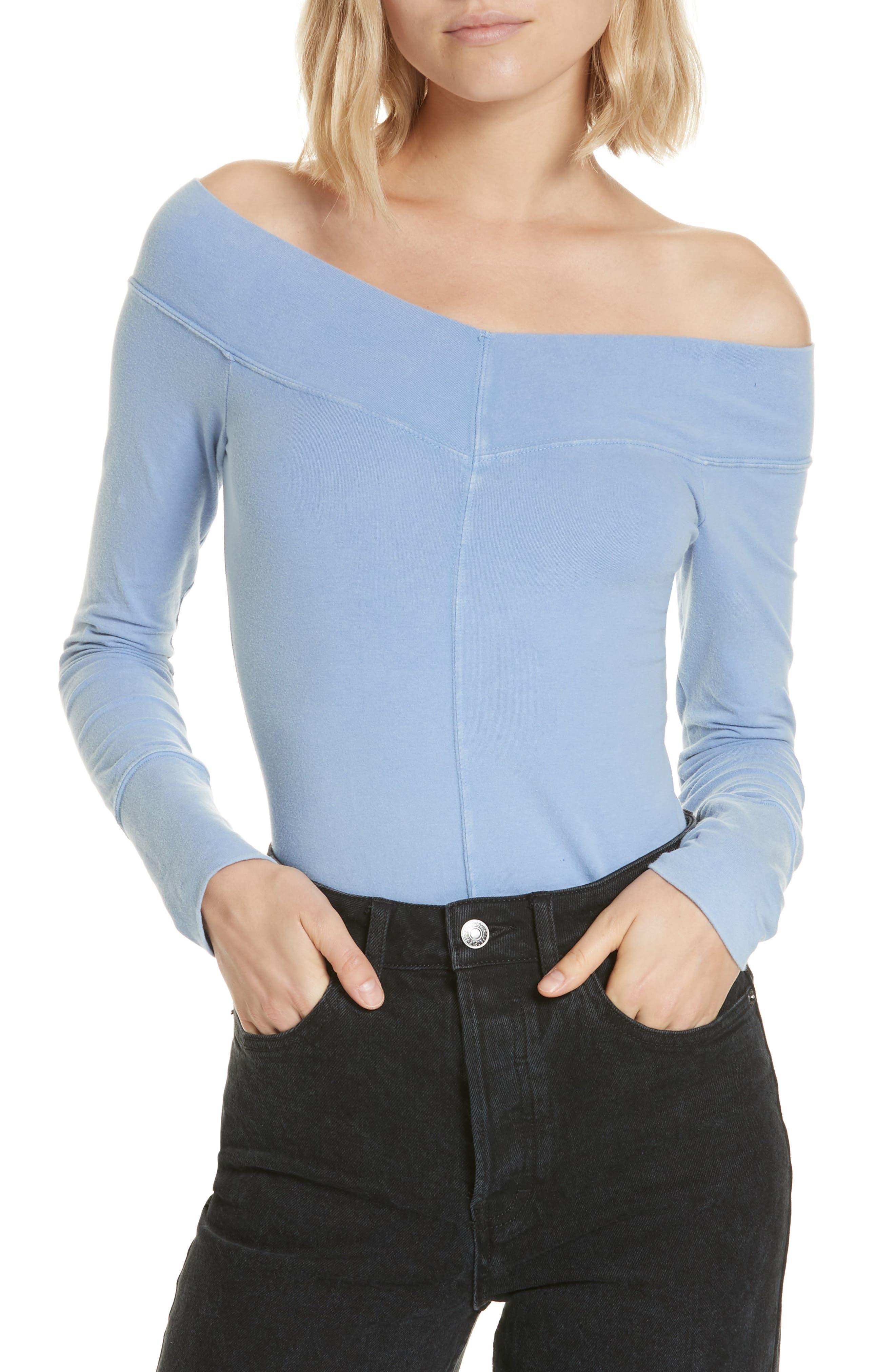 Zone Out Bodysuit,                             Main thumbnail 1, color,                             BLUE