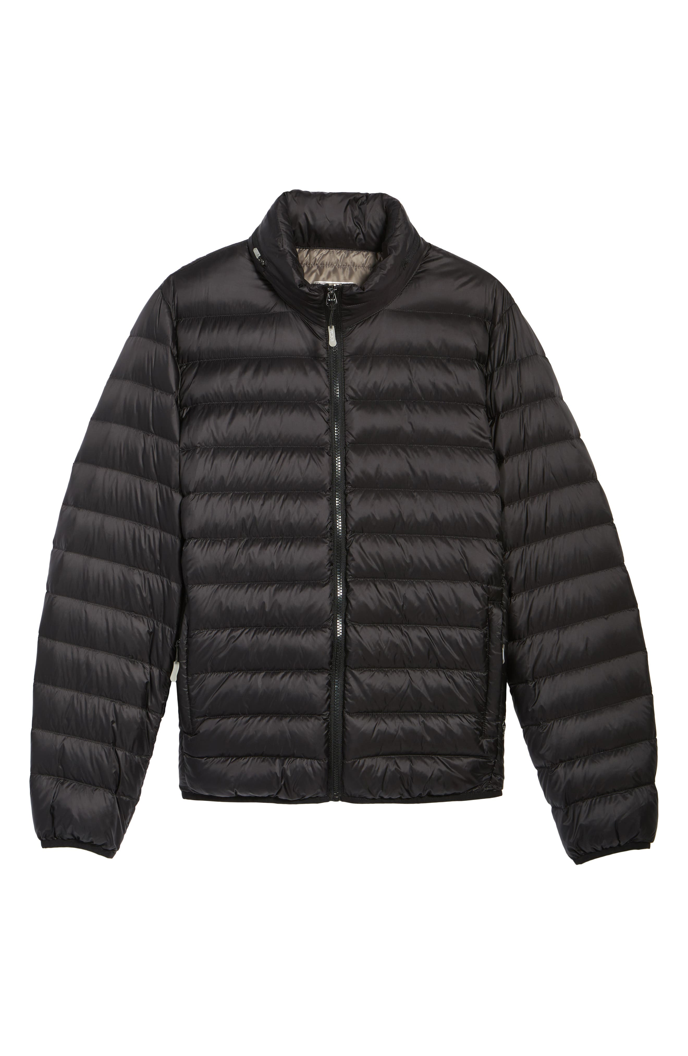 Pax Packable Quilted Jacket,                             Main thumbnail 1, color,                             001