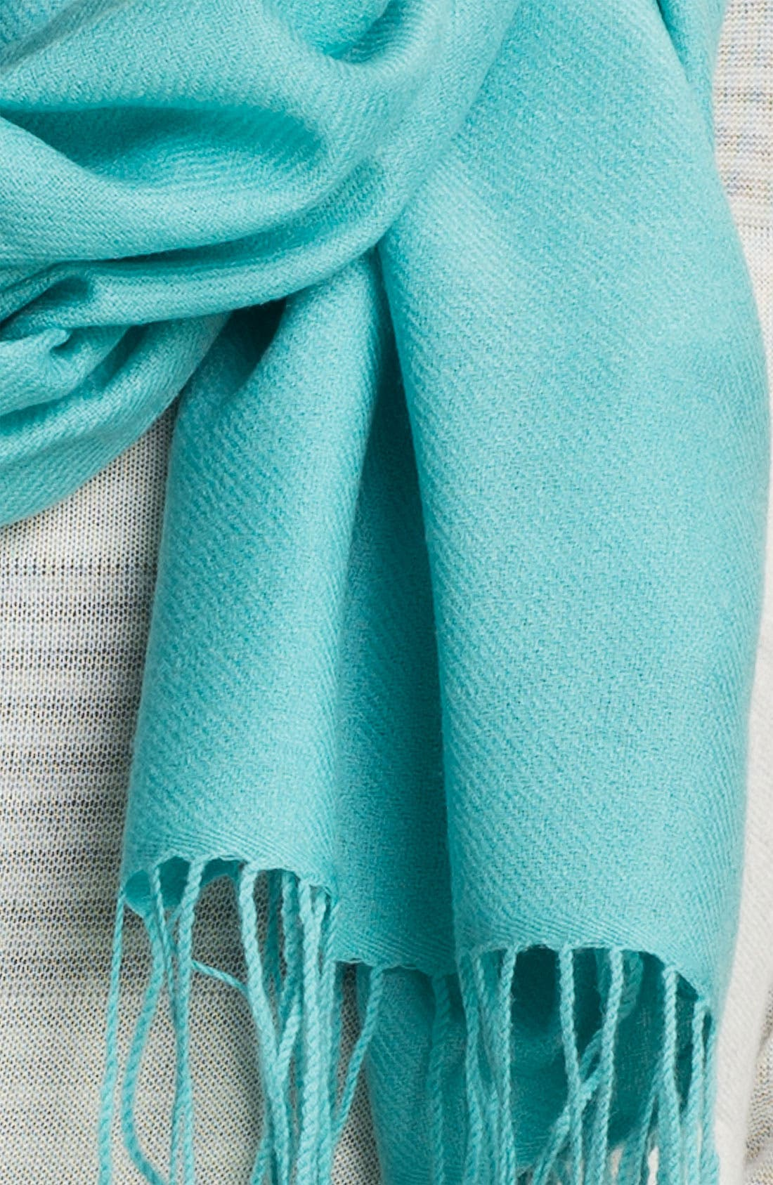 Tissue Weight Wool & Cashmere Wrap,                             Alternate thumbnail 186, color,