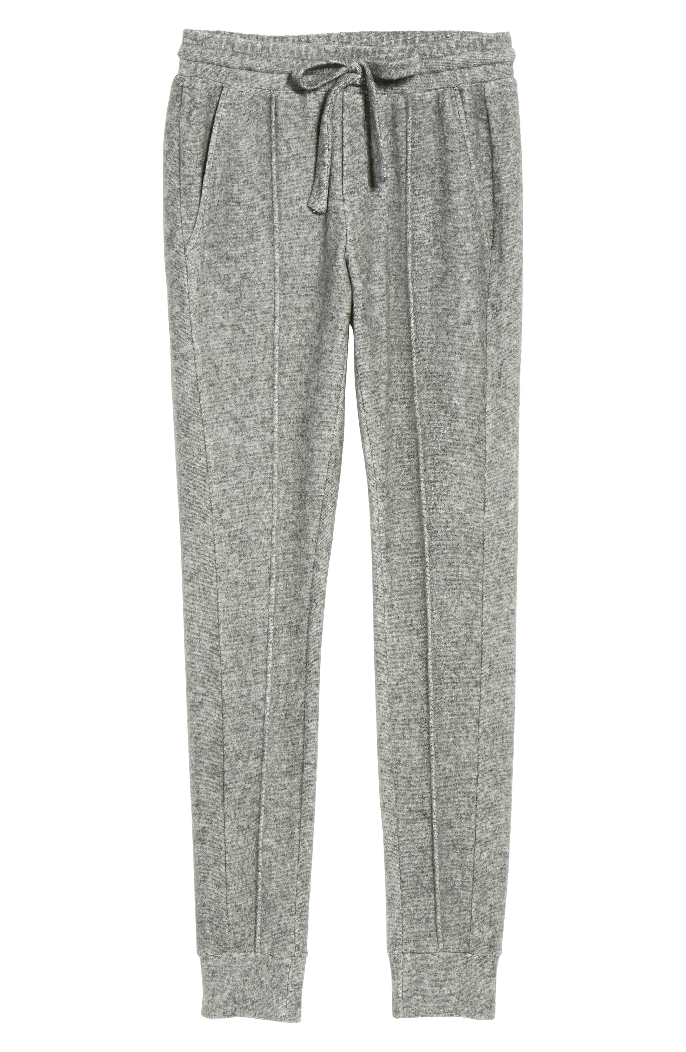 Slim Fleece Jogger Pants,                             Alternate thumbnail 6, color,                             020