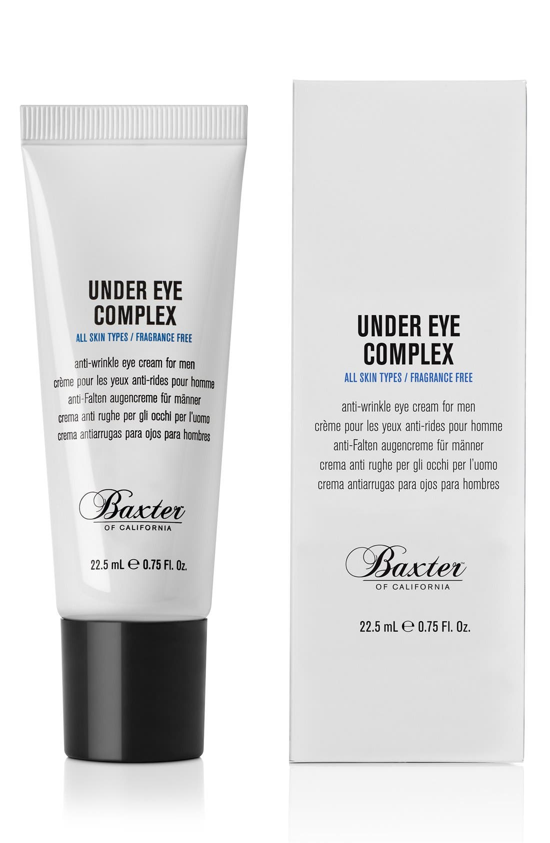 'Under Eye Complex' Anti-Wrinkle Eye Cream,                             Main thumbnail 1, color,                             NO COLOR