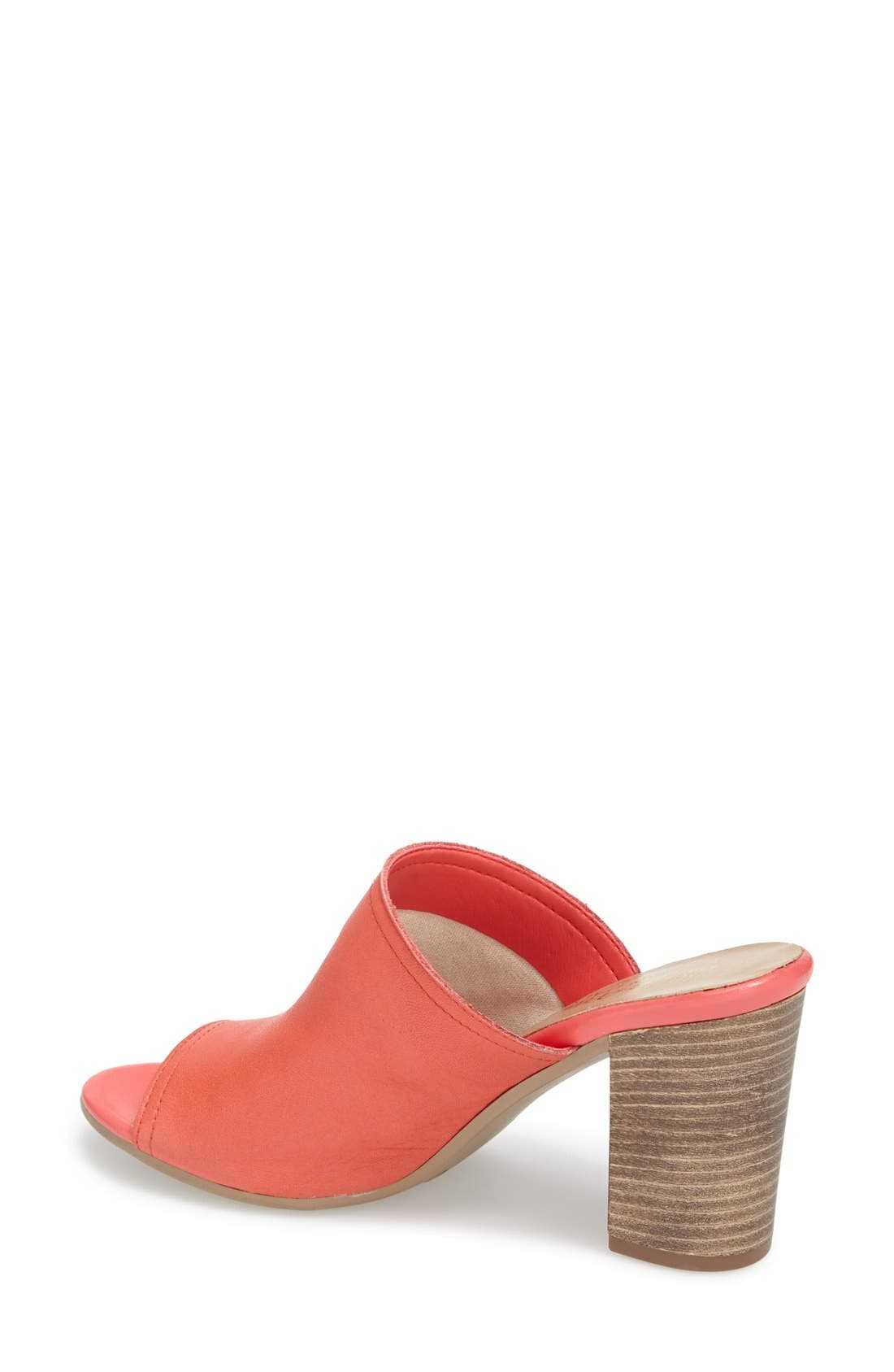 'Arno' Leather Mule,                             Alternate thumbnail 10, color,