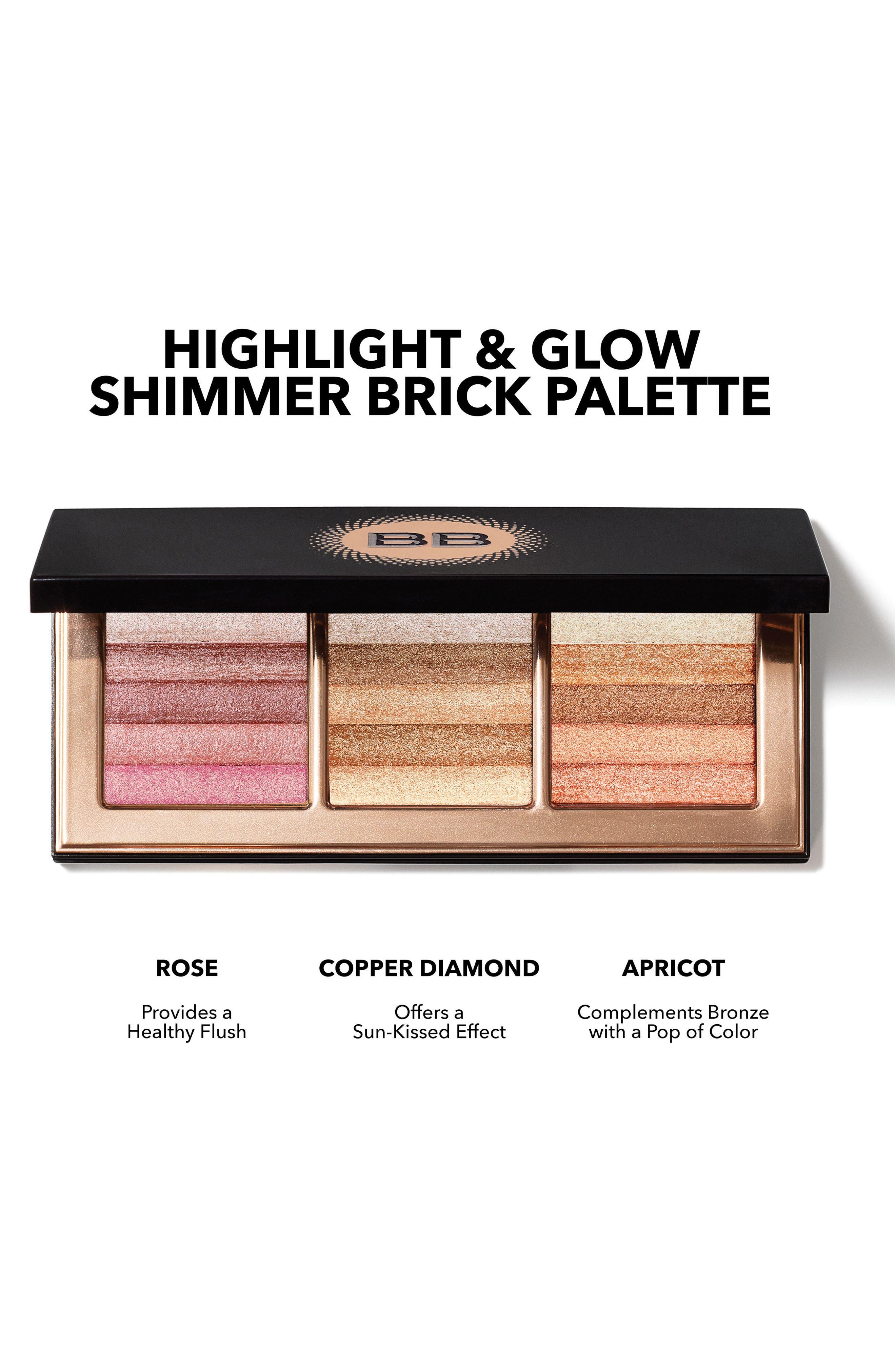 Shimmer Brick Palette,                             Alternate thumbnail 2, color,                             000
