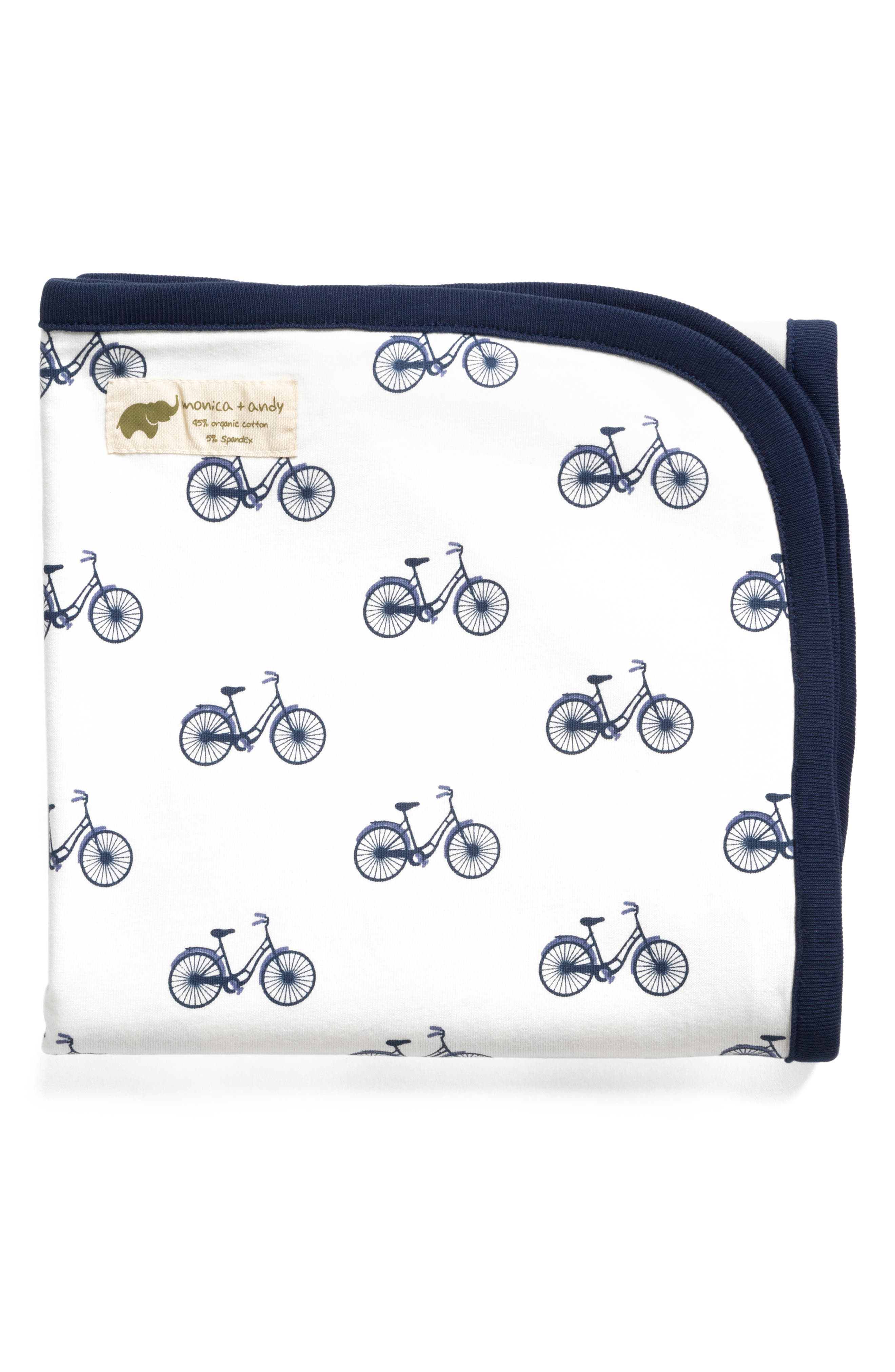 My First Bike Coming Home Blanket,                             Main thumbnail 1, color,                             MY FIRST BIKE