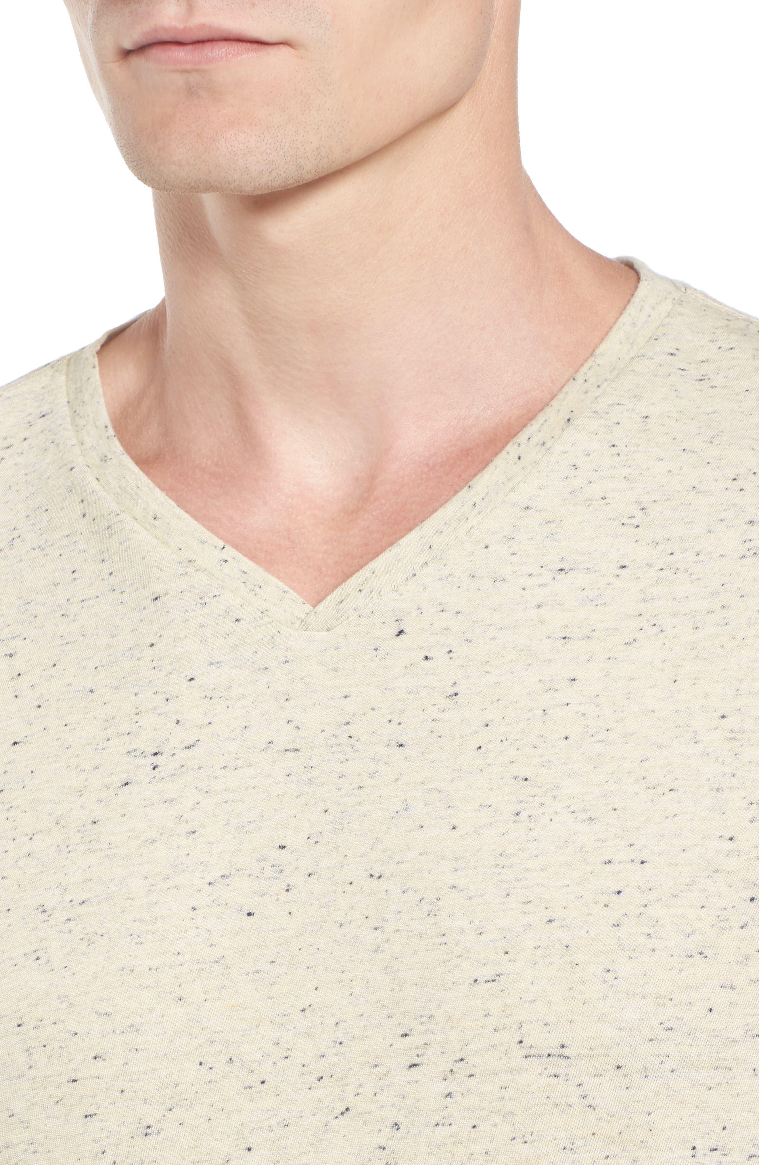 Mélange Jersey T-Shirt,                             Alternate thumbnail 11, color,