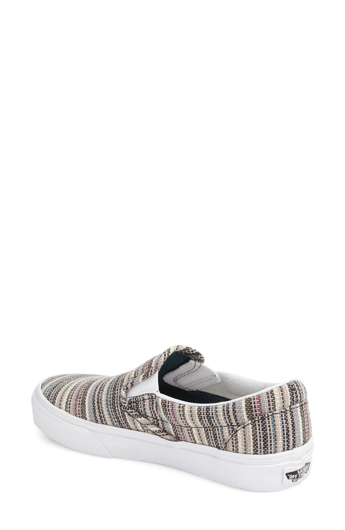Classic Slip-On Sneaker,                             Alternate thumbnail 455, color,