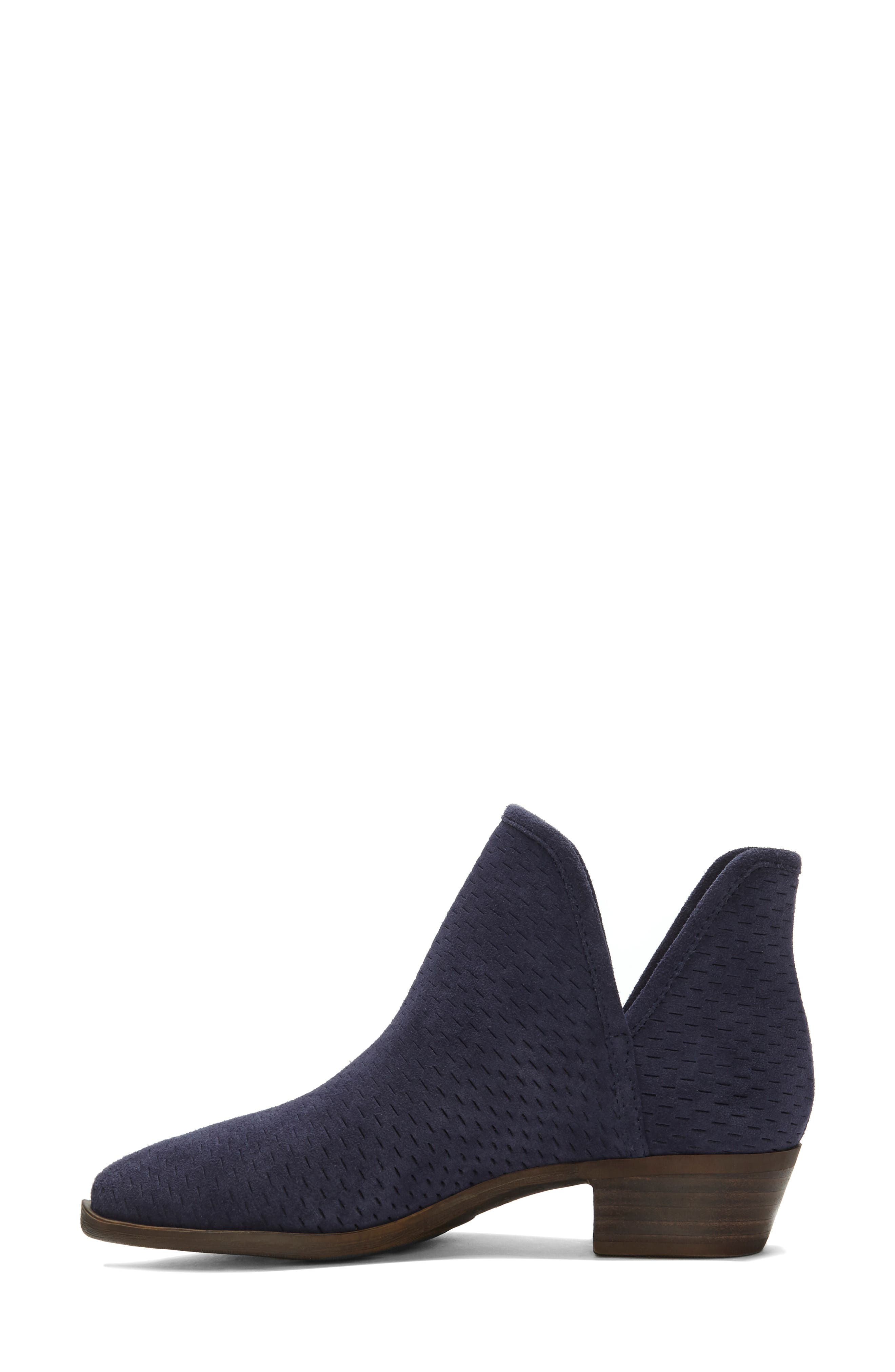 Baley Bootie,                             Alternate thumbnail 6, color,                             MOROCCAN BLUE SUEDE