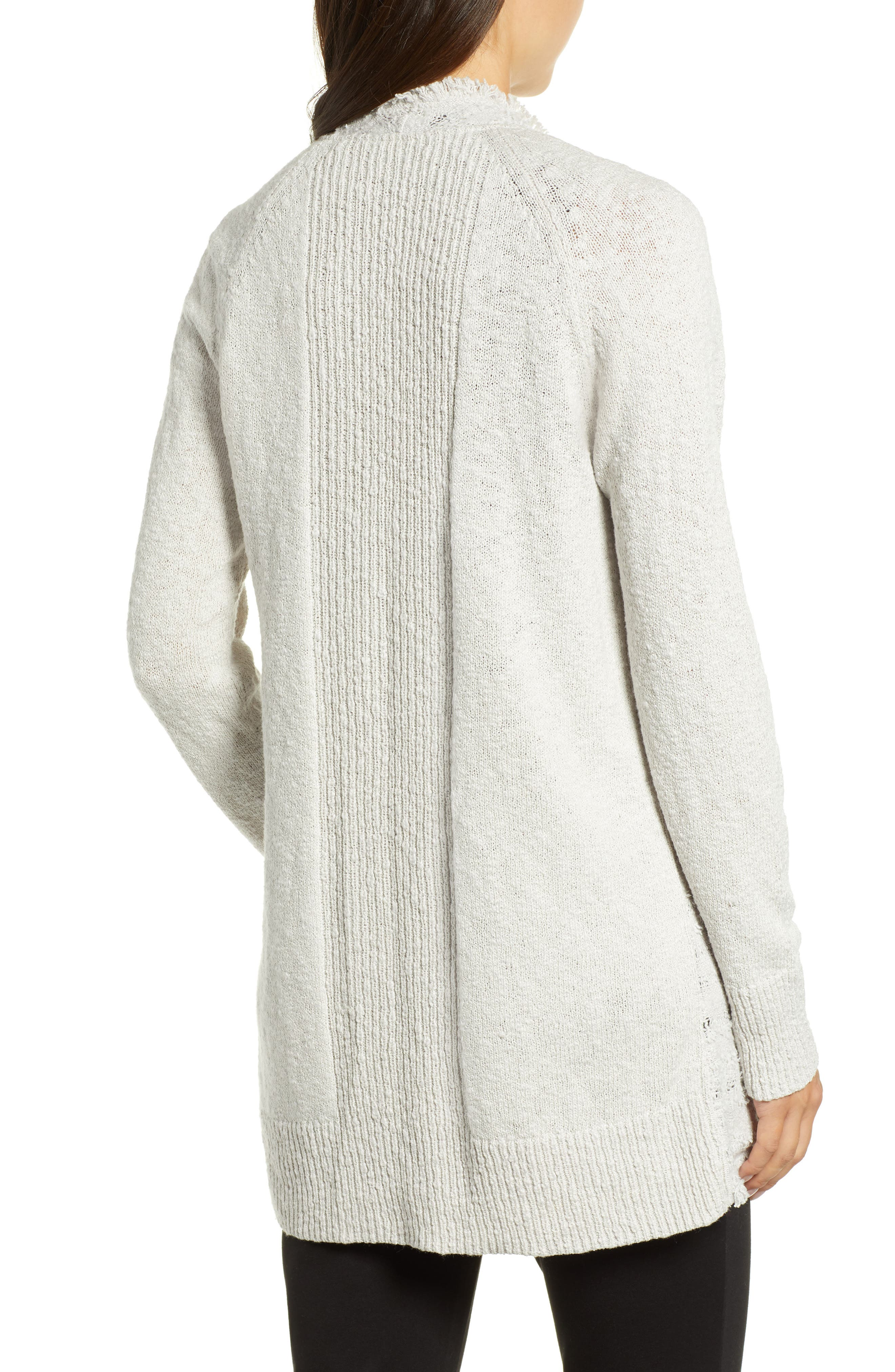 Carefree Cardigan,                             Alternate thumbnail 2, color,                             FROST
