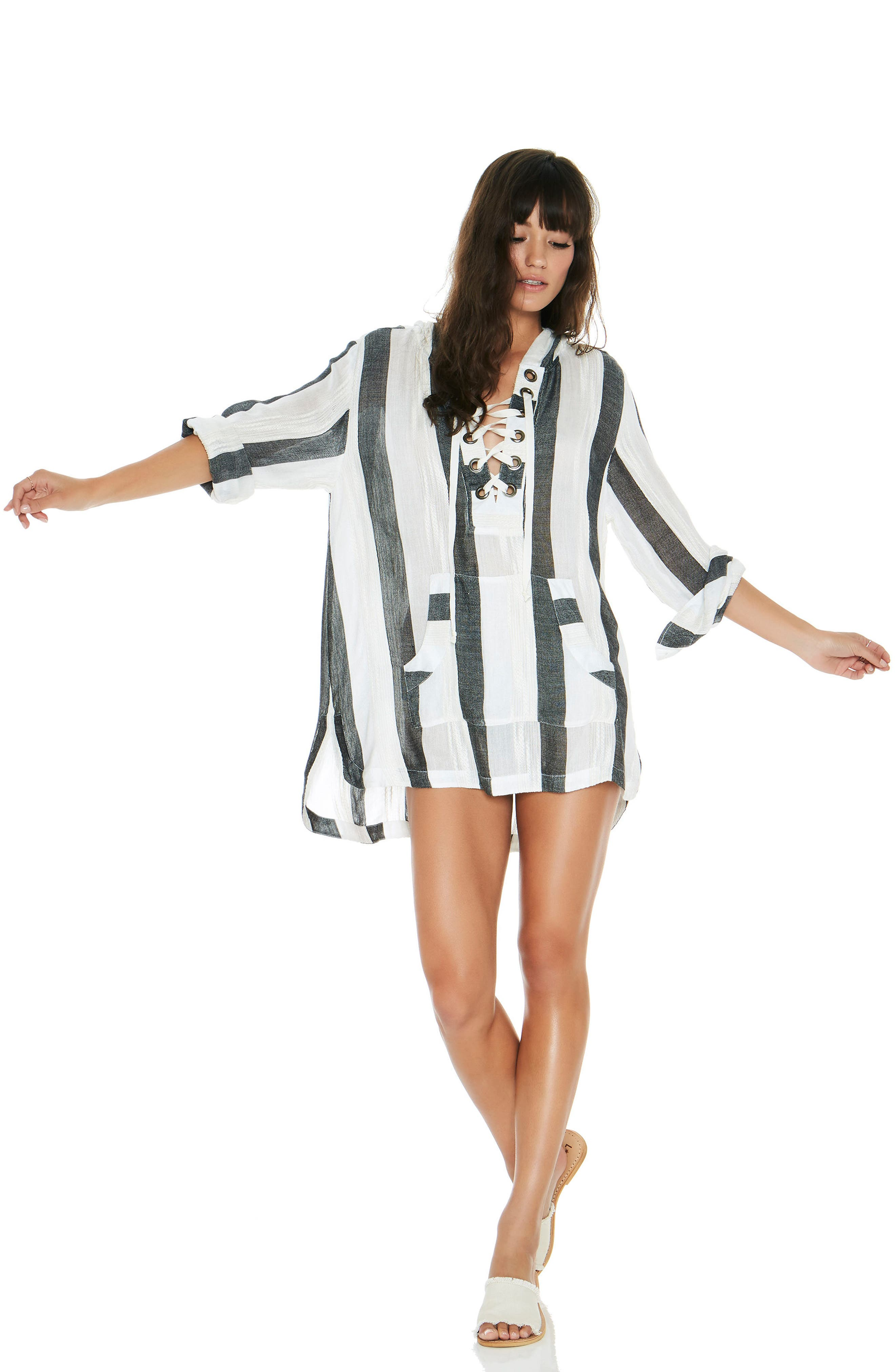Love Letters Cover-Up Tunic,                             Alternate thumbnail 5, color,                             025