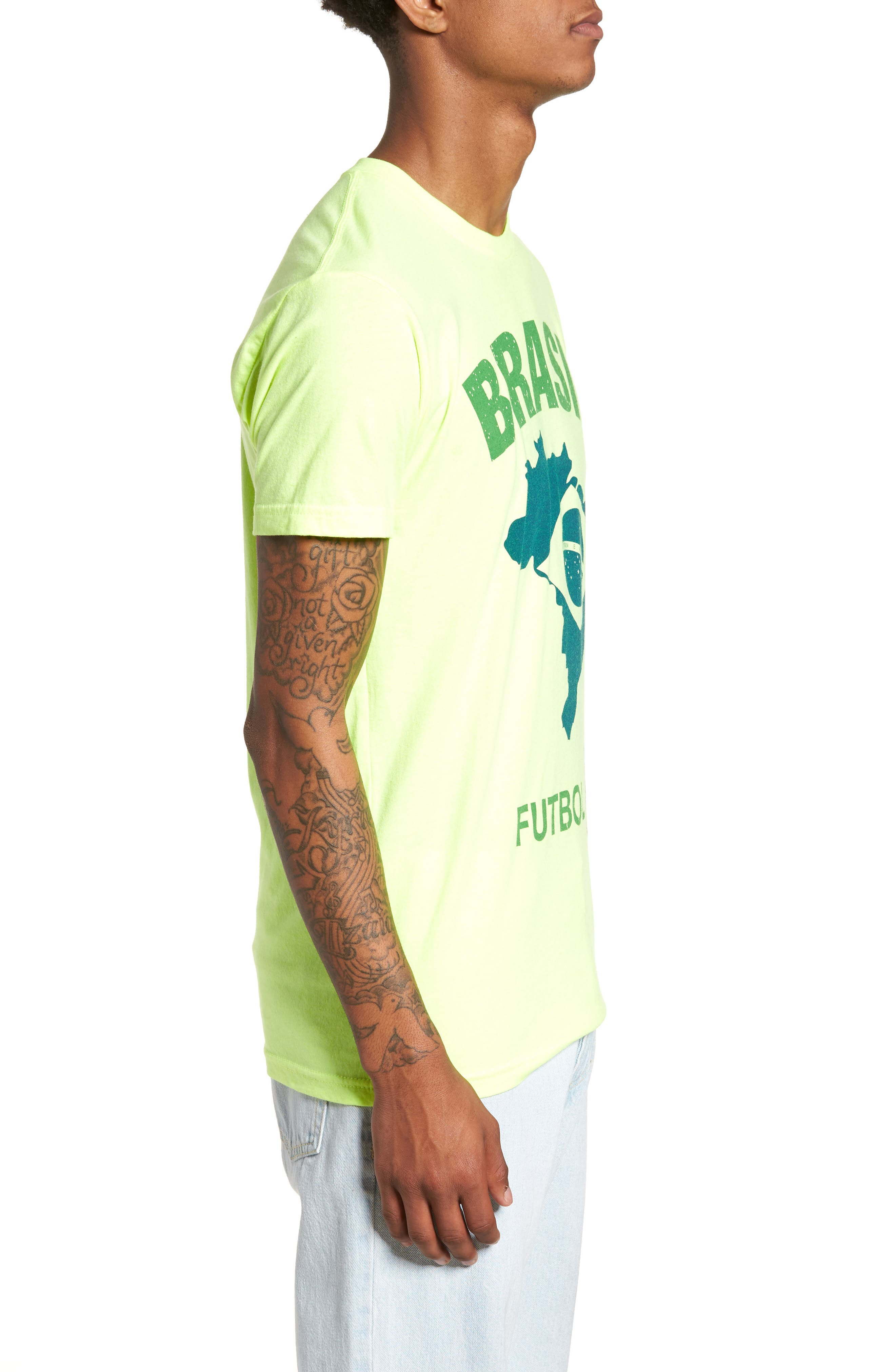 Brasil Futbol T-Shirt,                             Alternate thumbnail 3, color,                             700