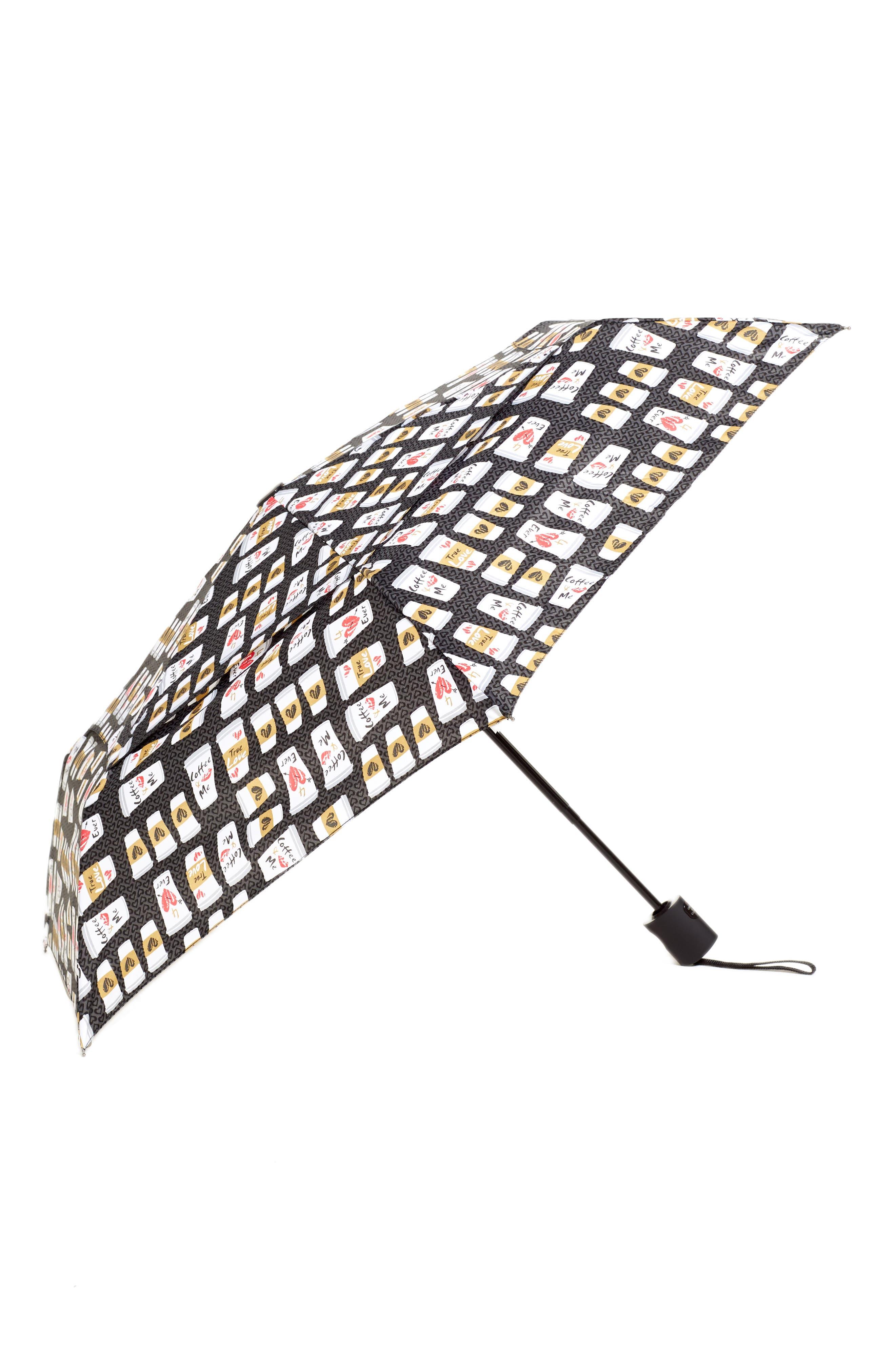 WindPro<sup>®</sup> Auto Open & Close Umbrella,                         Main,                         color, NORD BREWED