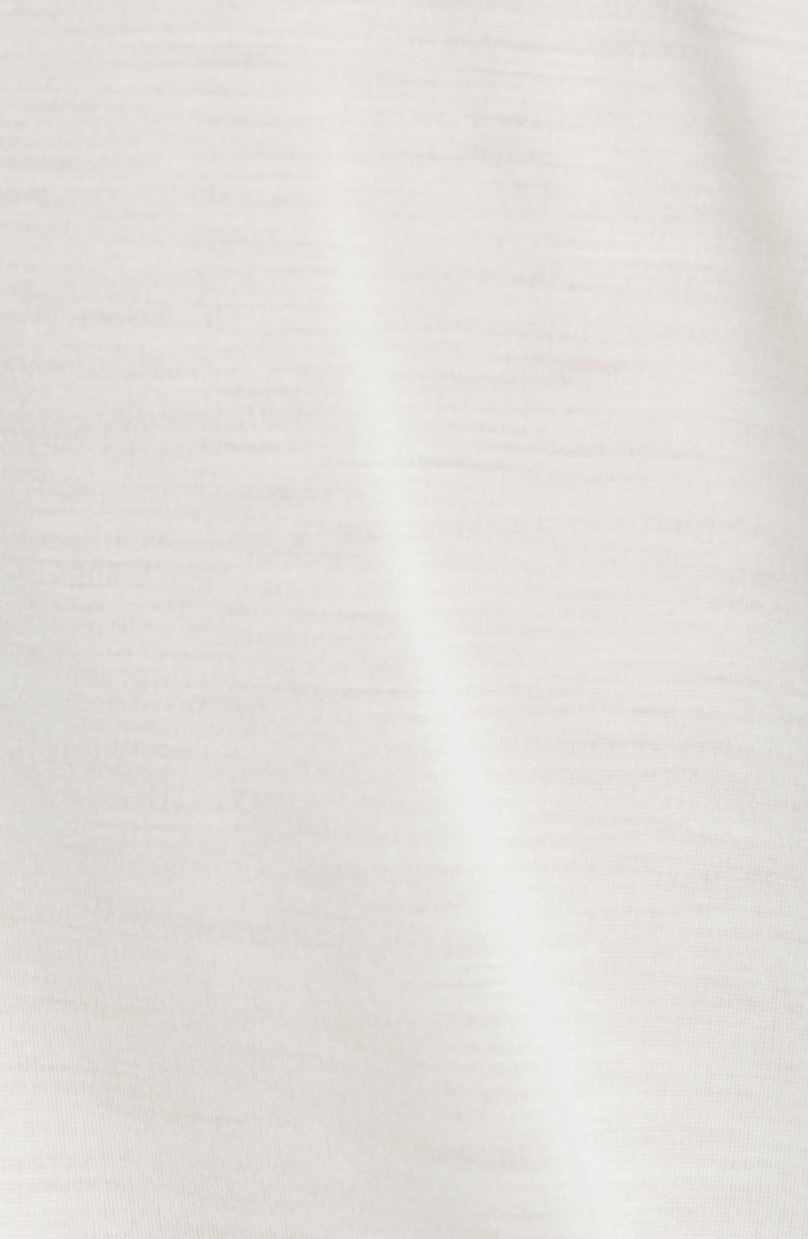 RICK OWENS,                             Silk Jersey Tee,                             Alternate thumbnail 5, color,                             OYSTER